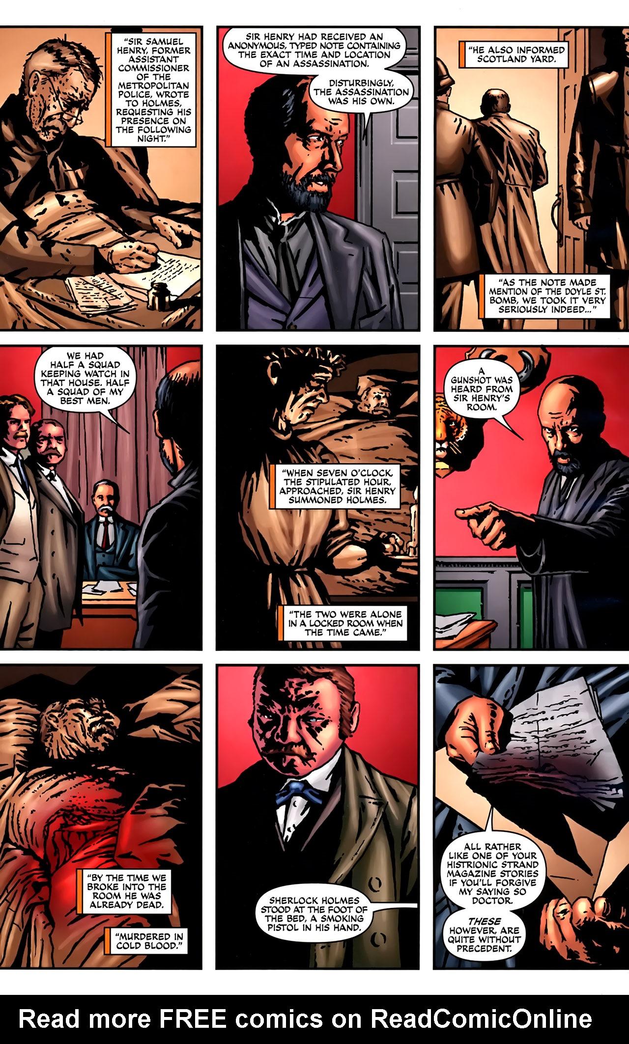 Read online Sherlock Holmes (2009) comic -  Issue #2 - 4
