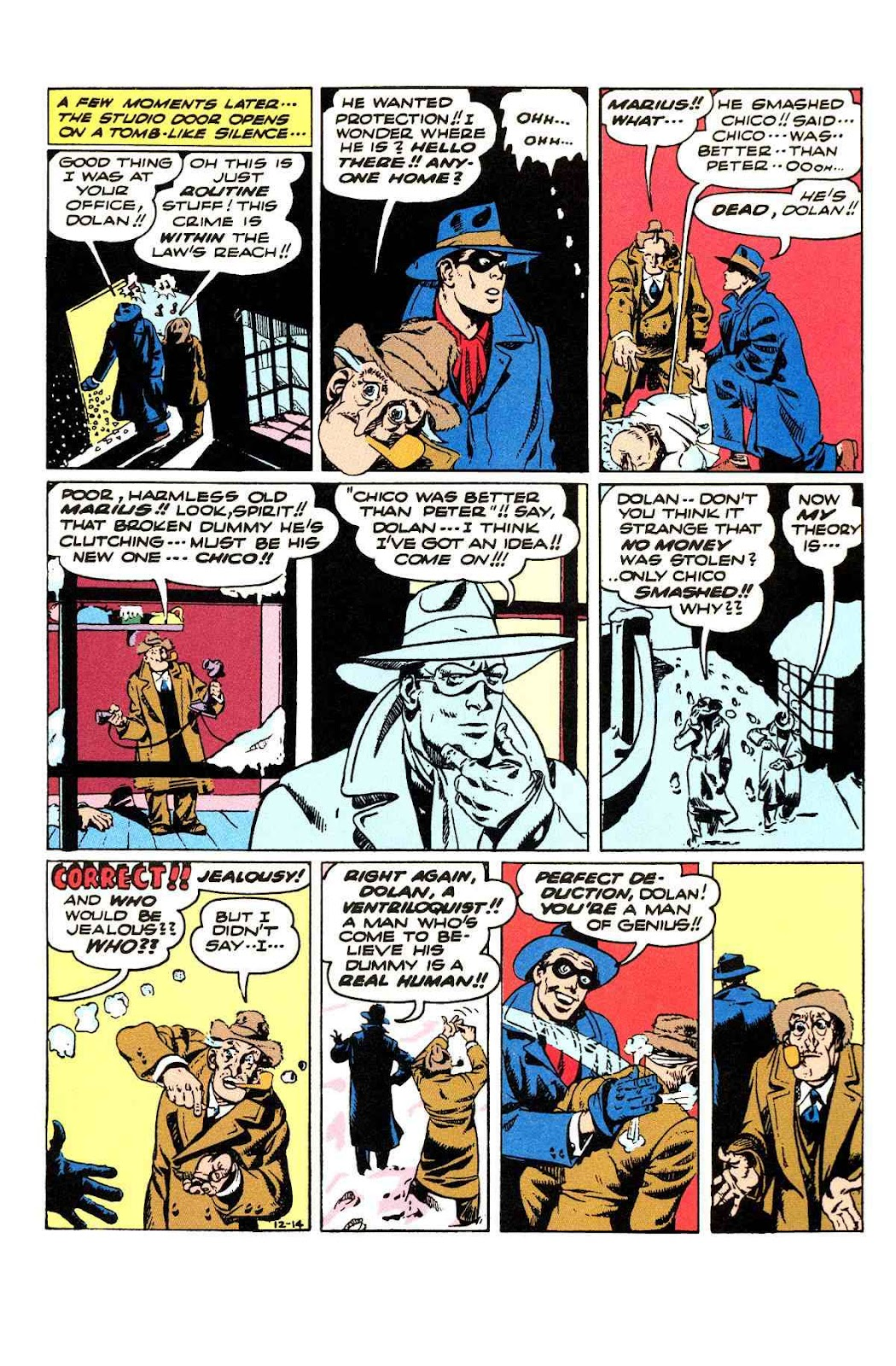 Read online Will Eisner's The Spirit Archives comic -  Issue # TPB 3 (Part 2) - 88