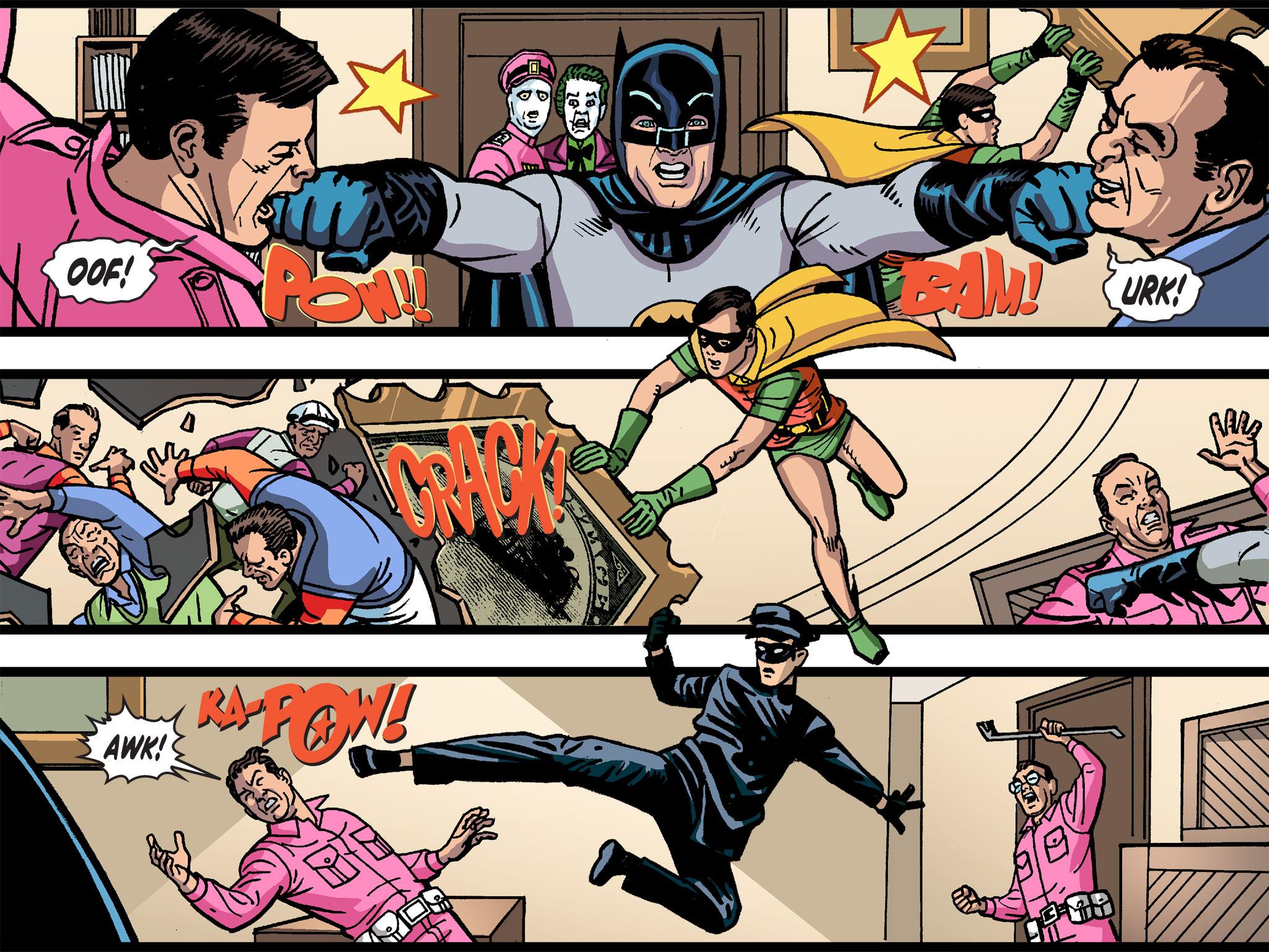 Read online Batman '66 Meets the Green Hornet [II] comic -  Issue #4 - 105