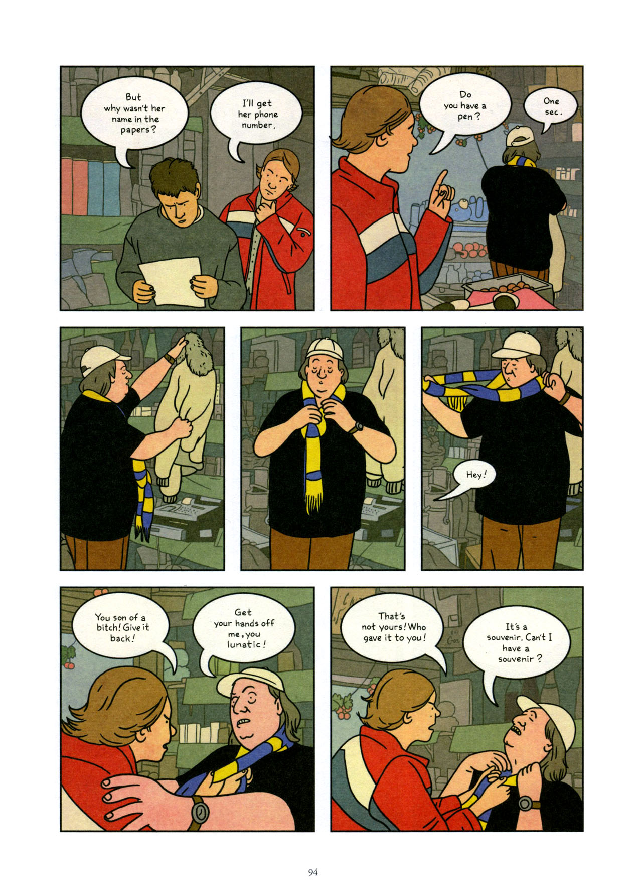 Read online Exit Wounds comic -  Issue # TPB - 95