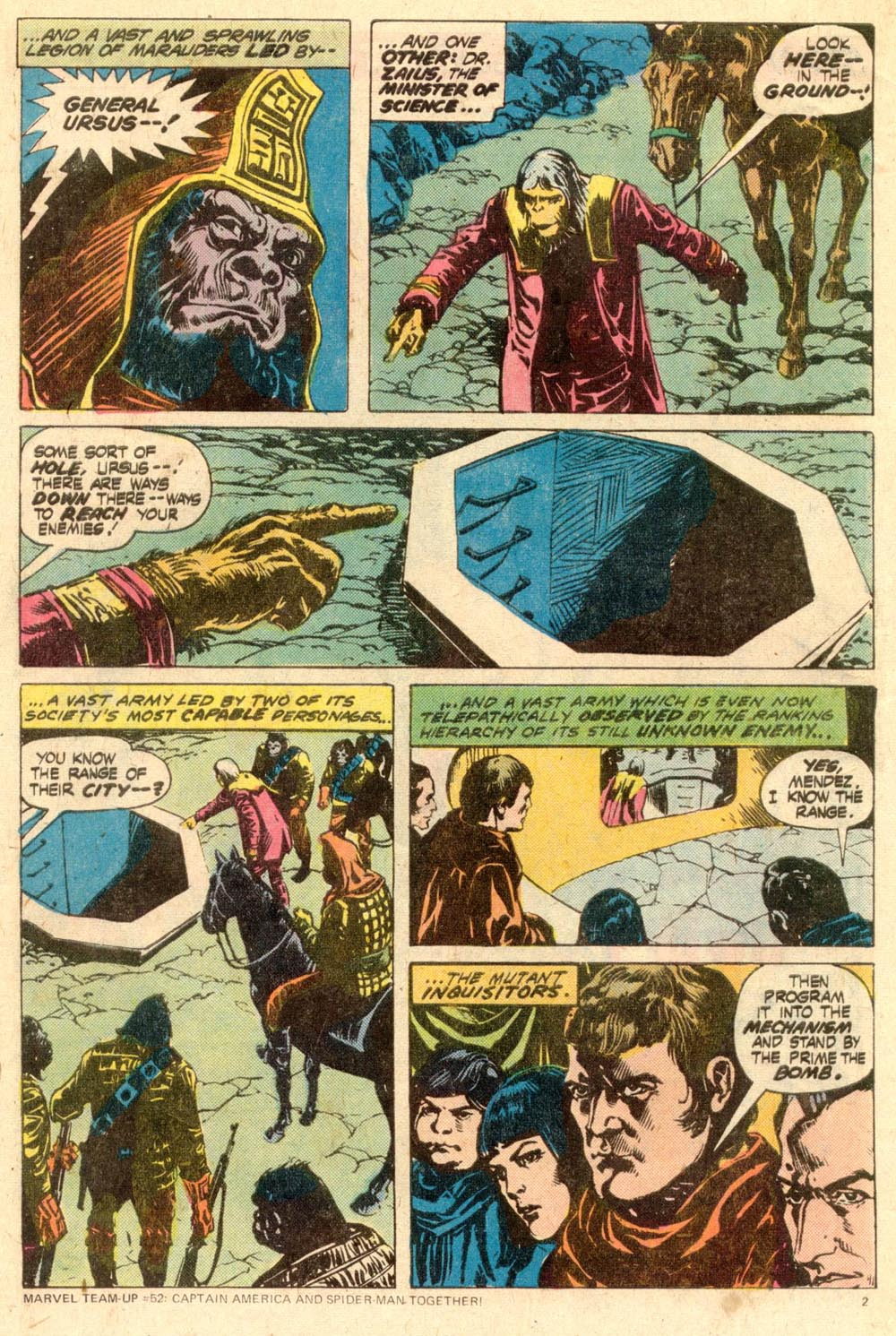 Read online Adventures on the Planet of the Apes comic -  Issue #11 - 3
