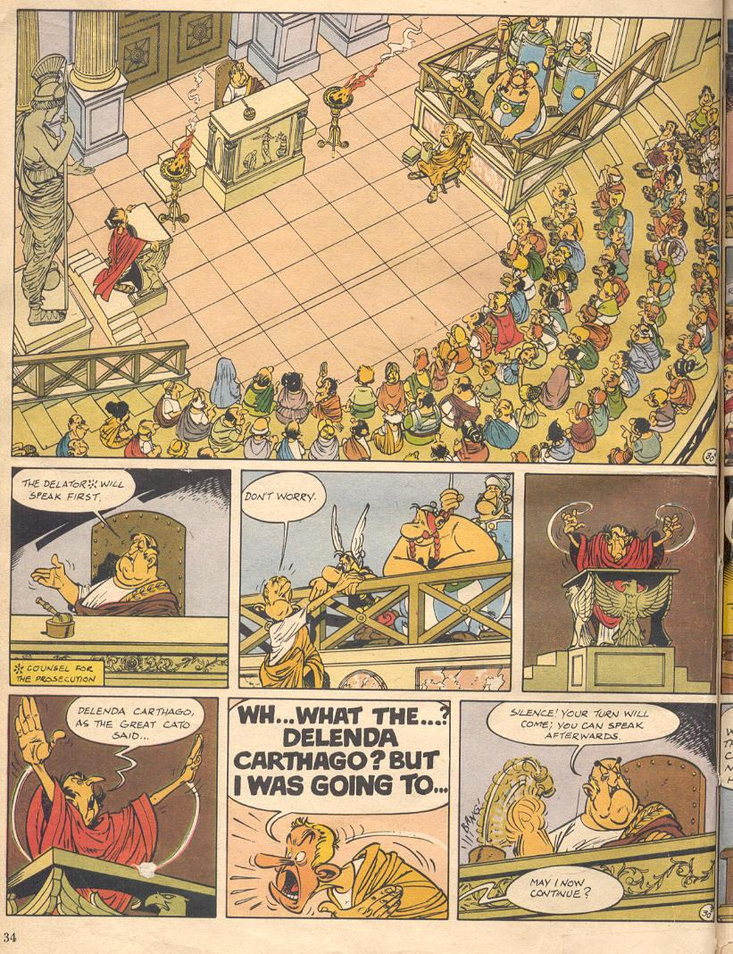 Read online Asterix comic -  Issue #18 - 32