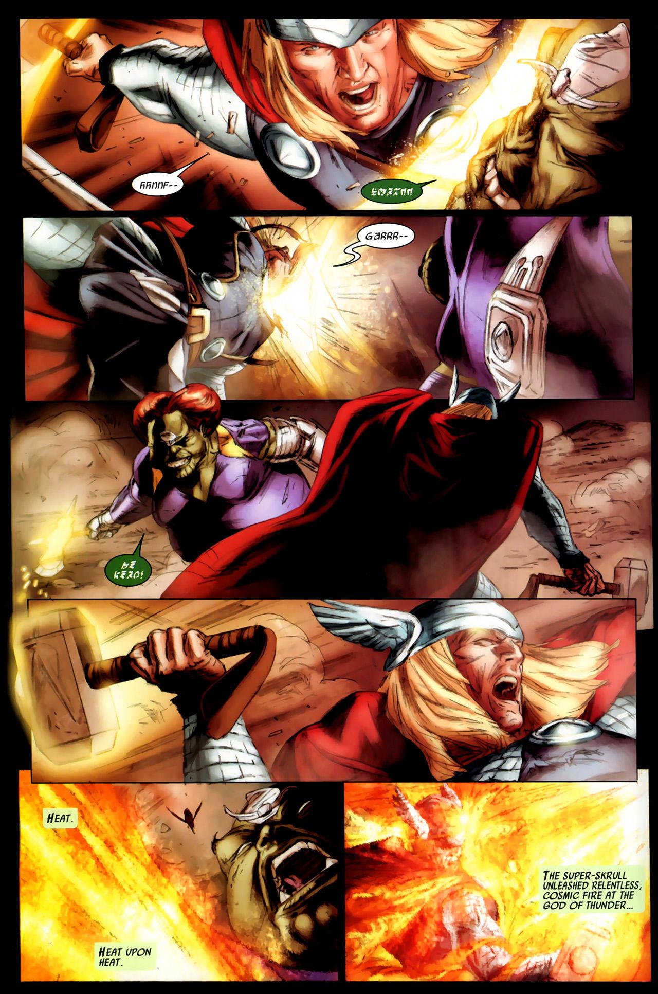 Read online Secret Invasion: Thor comic -  Issue #3 - 9