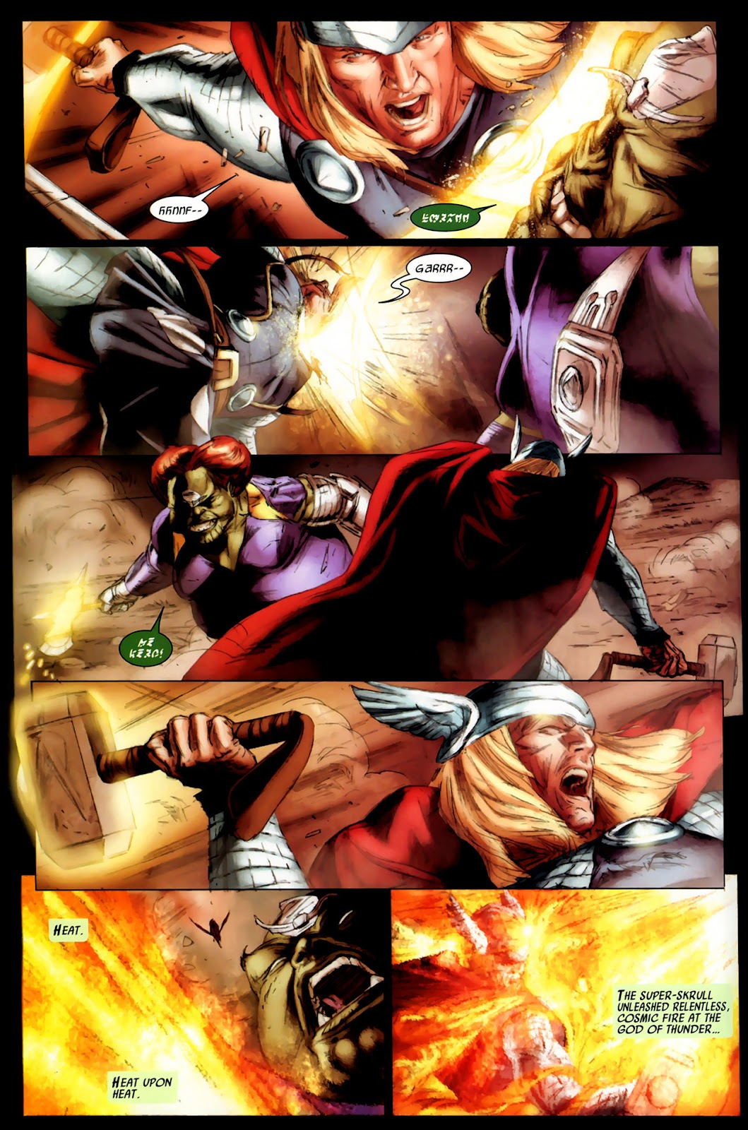 Secret Invasion: Thor Issue #3 #3 - English 9