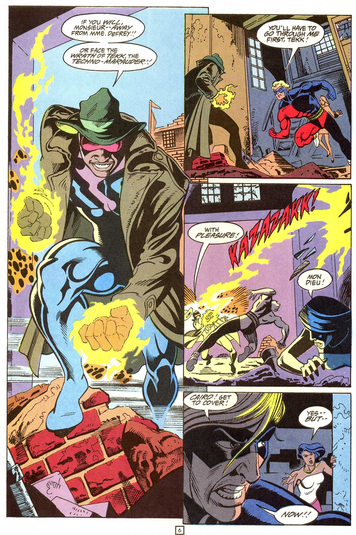 Read online Peter Cannon--Thunderbolt (1992) comic -  Issue #9 - 7