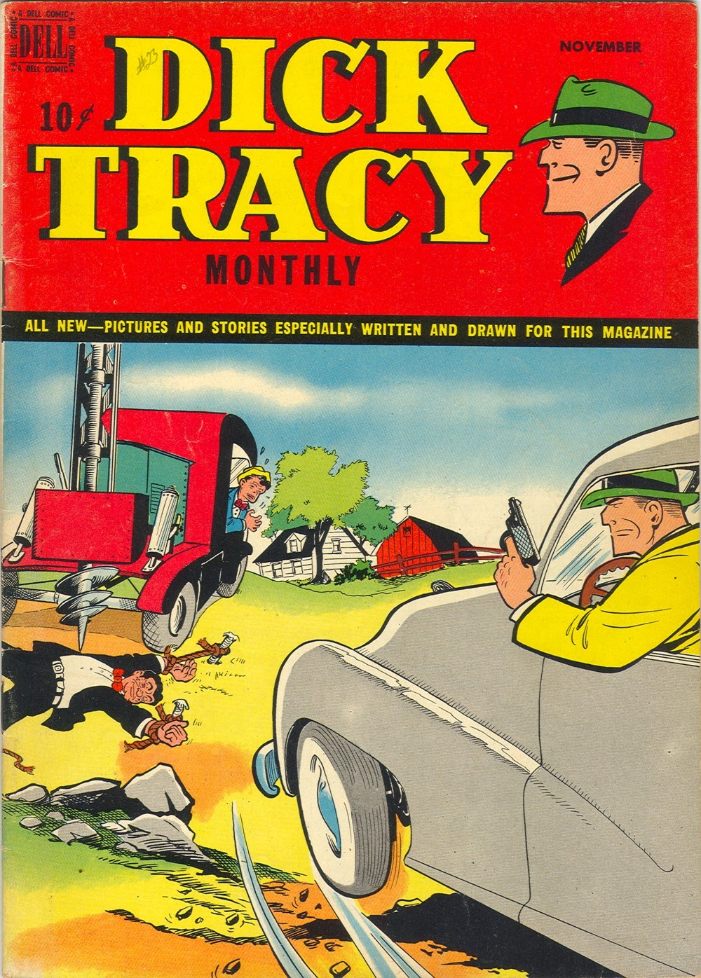 Dick Tracy Monthly 23 Page 1