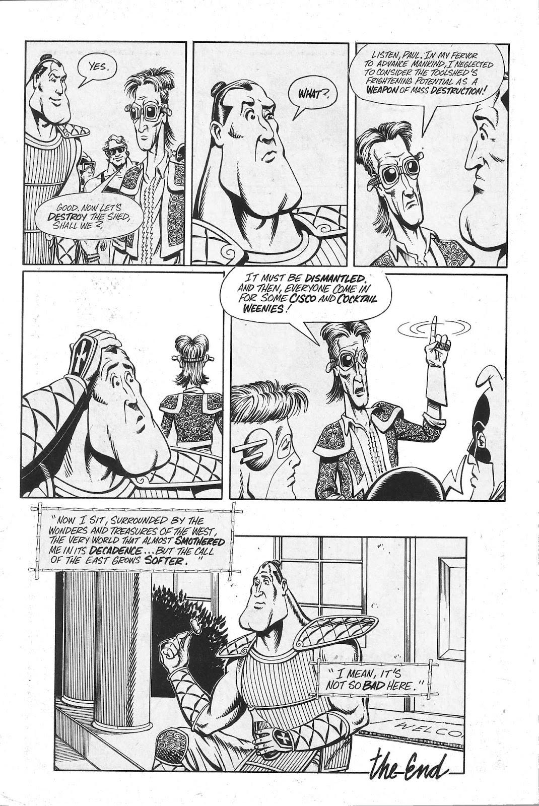 Read online Paul the Samurai (1991) comic -  Issue # TPB - 96