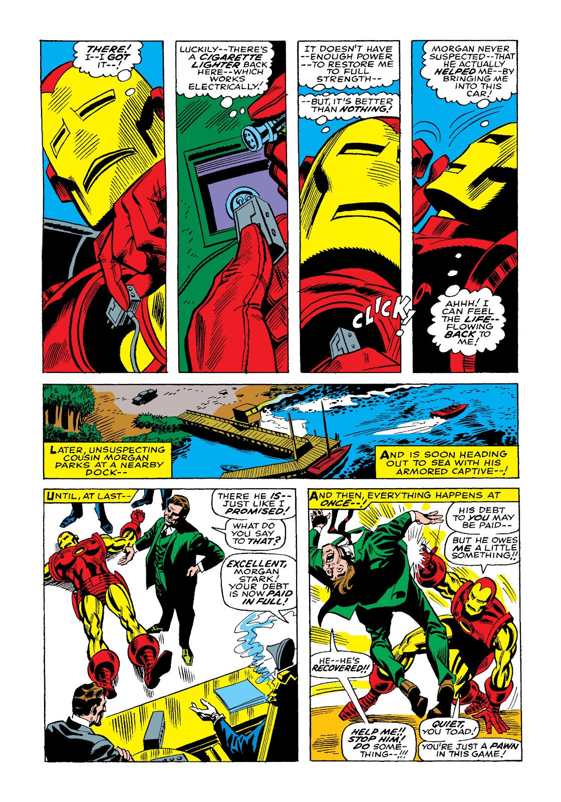 Read online Marvel Masterworks: The Invincible Iron Man comic -  Issue # TPB 4 (Part 2) - 84