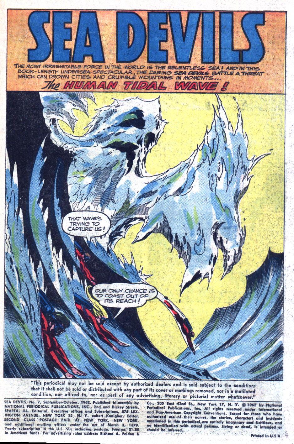 Read online Sea Devils comic -  Issue #7 - 4