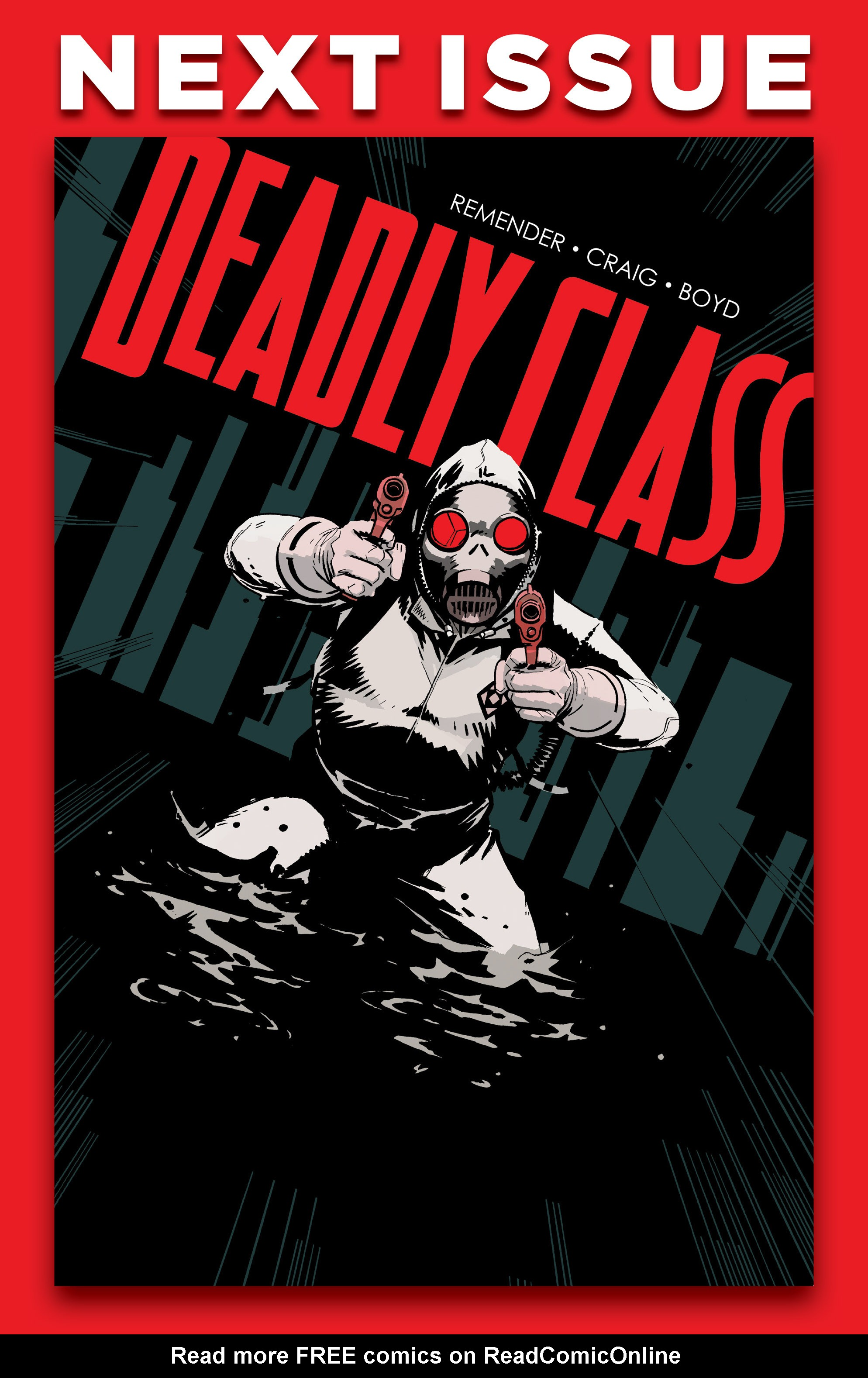 Read online Deadly Class comic -  Issue #25 - 28
