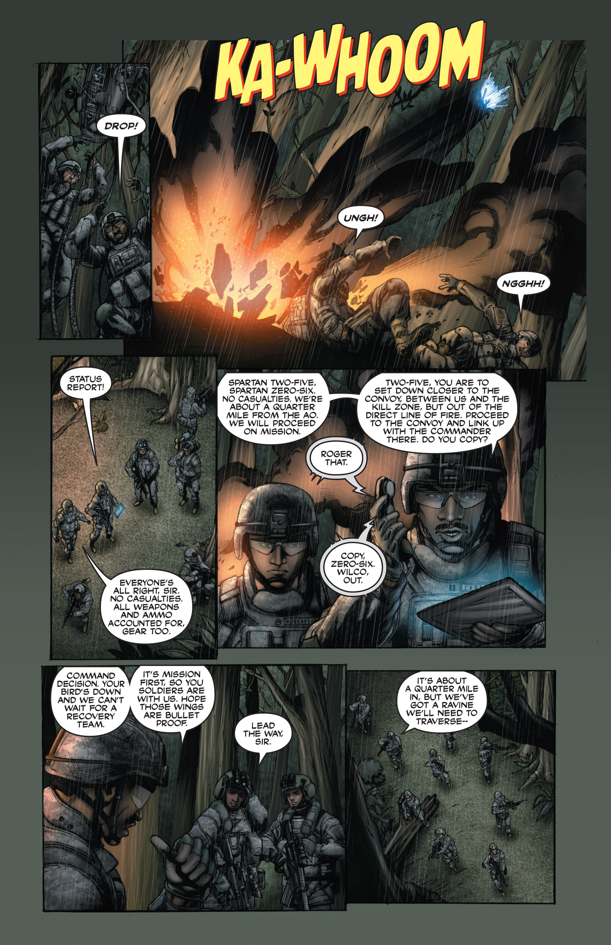 Read online America's Army comic -  Issue #15 - 11