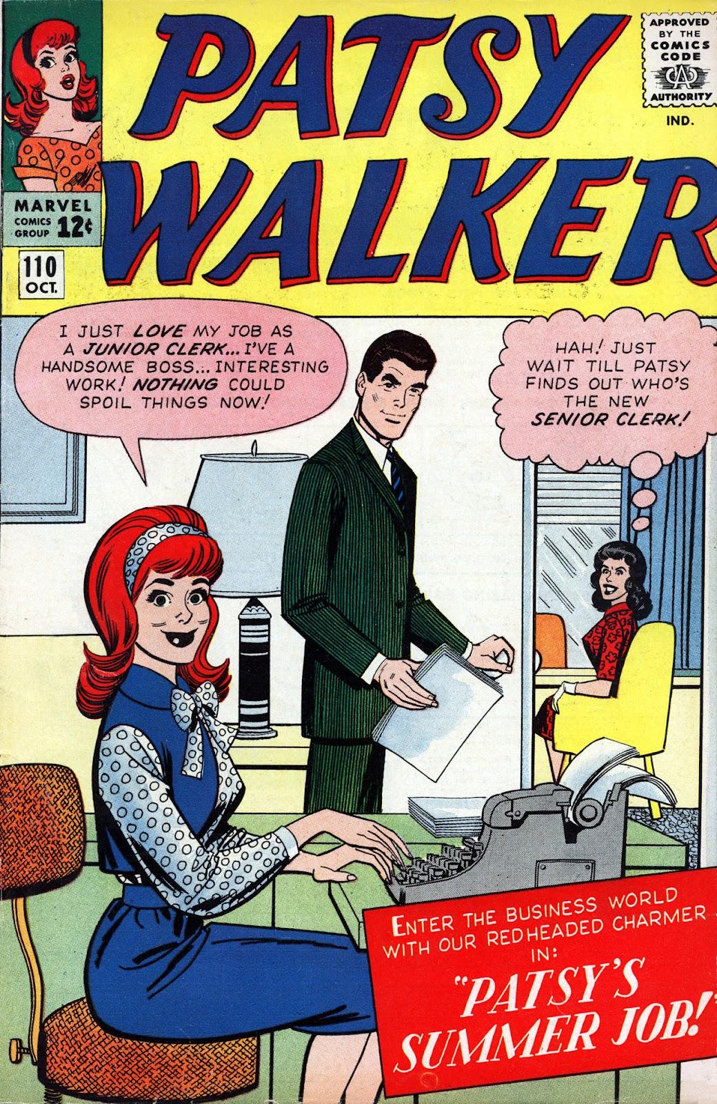 Patsy Walker 110 Page 1