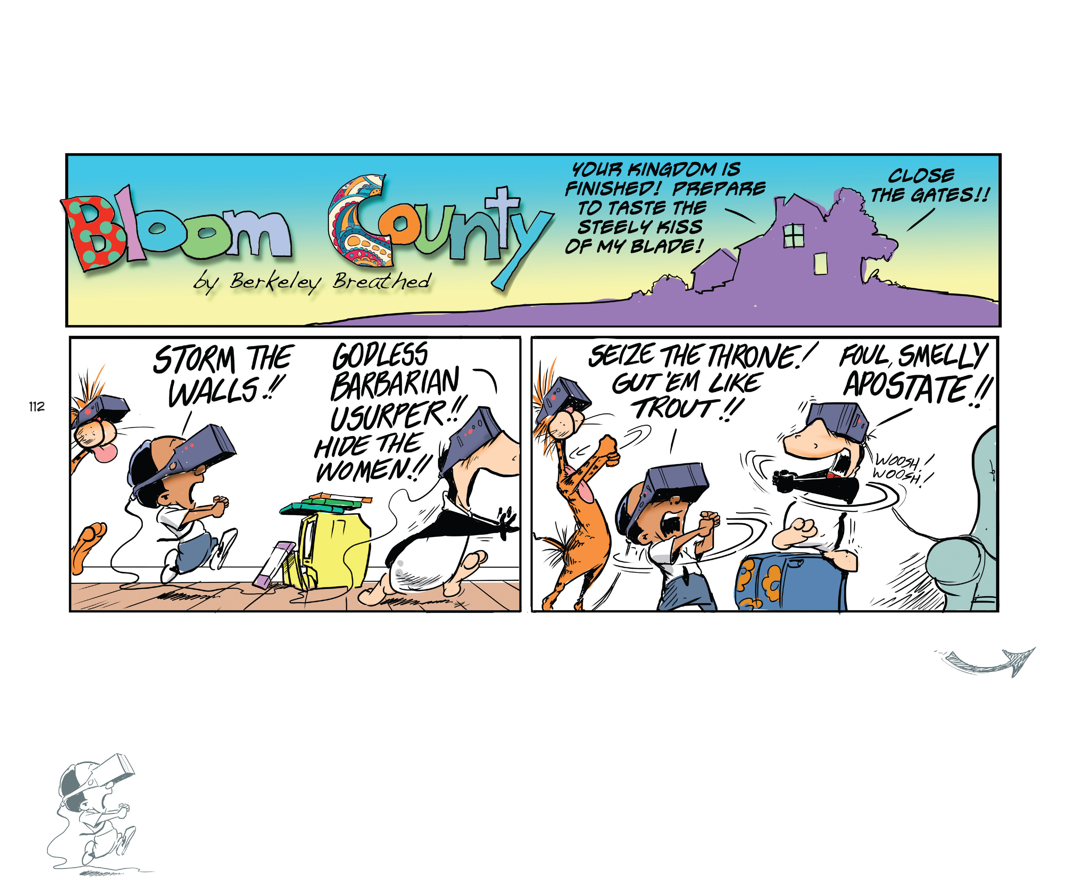 Read online Bloom County Episode XI: A New Hope comic -  Issue # Full - 114