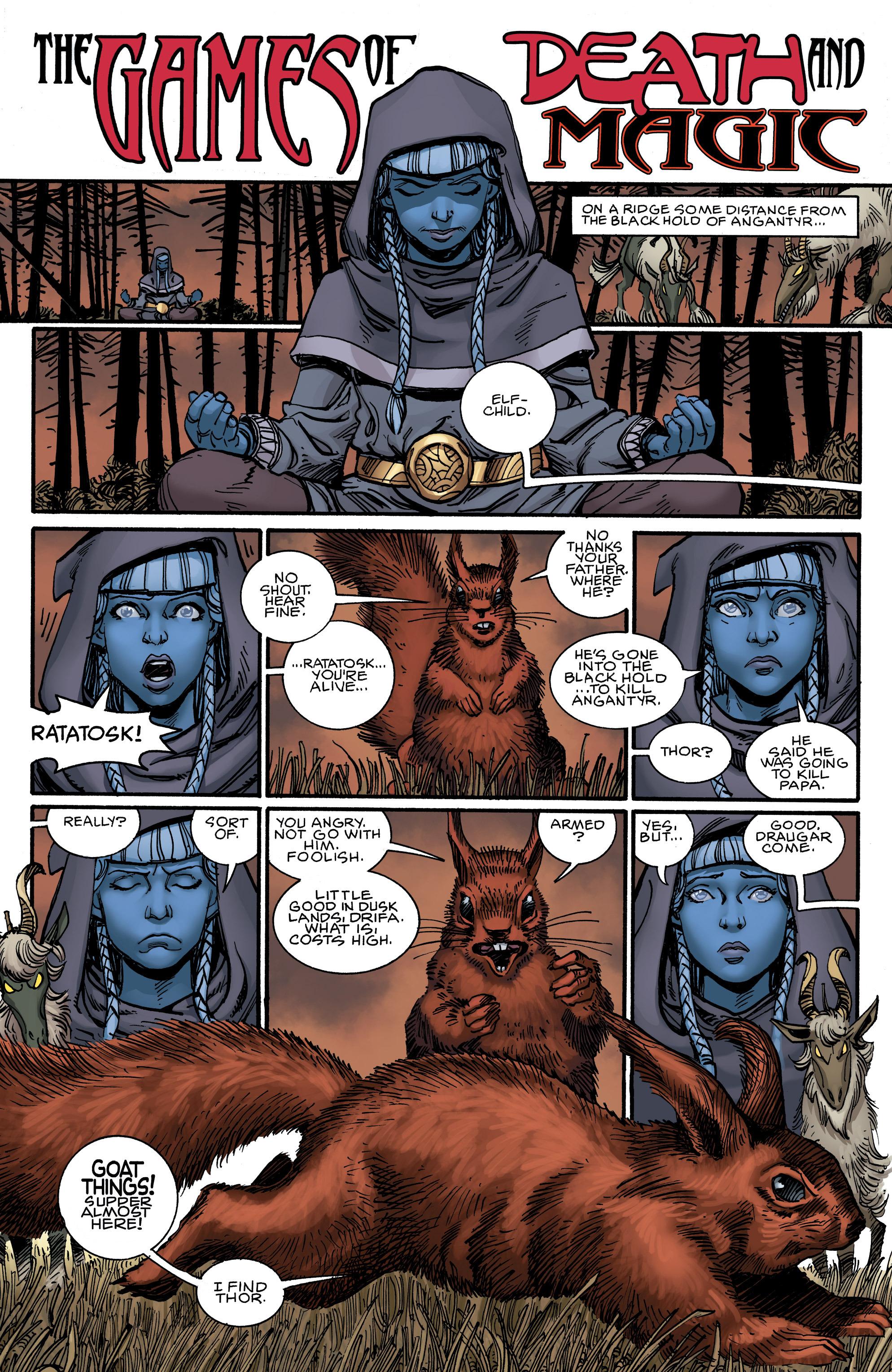 Read online Ragnarok comic -  Issue #12 - 3