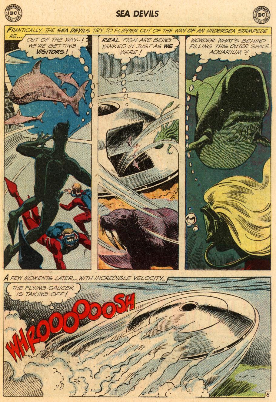 Read online Sea Devils comic -  Issue #5 - 8