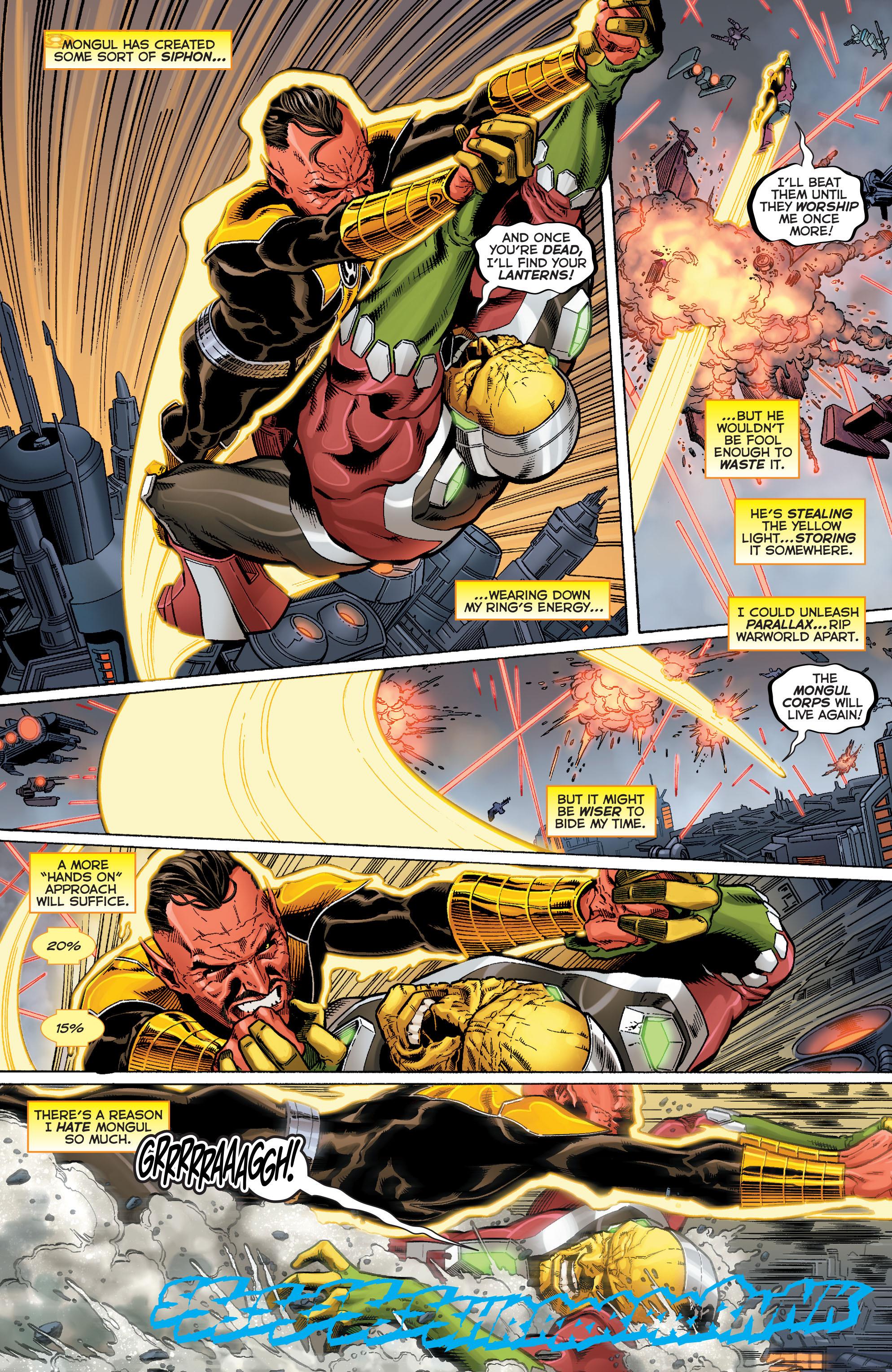 Read online Sinestro comic -  Issue #9 - 19