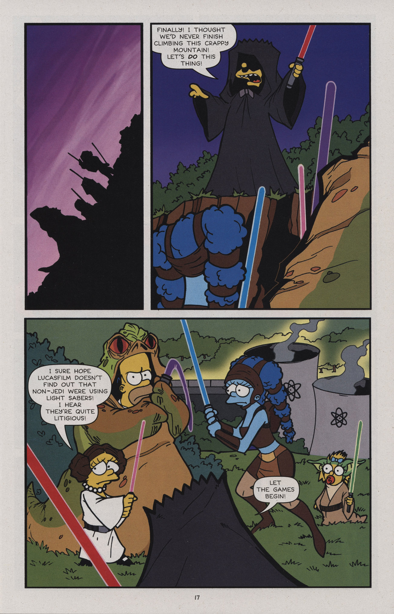 Read online Treehouse of Horror comic -  Issue #17 - 20
