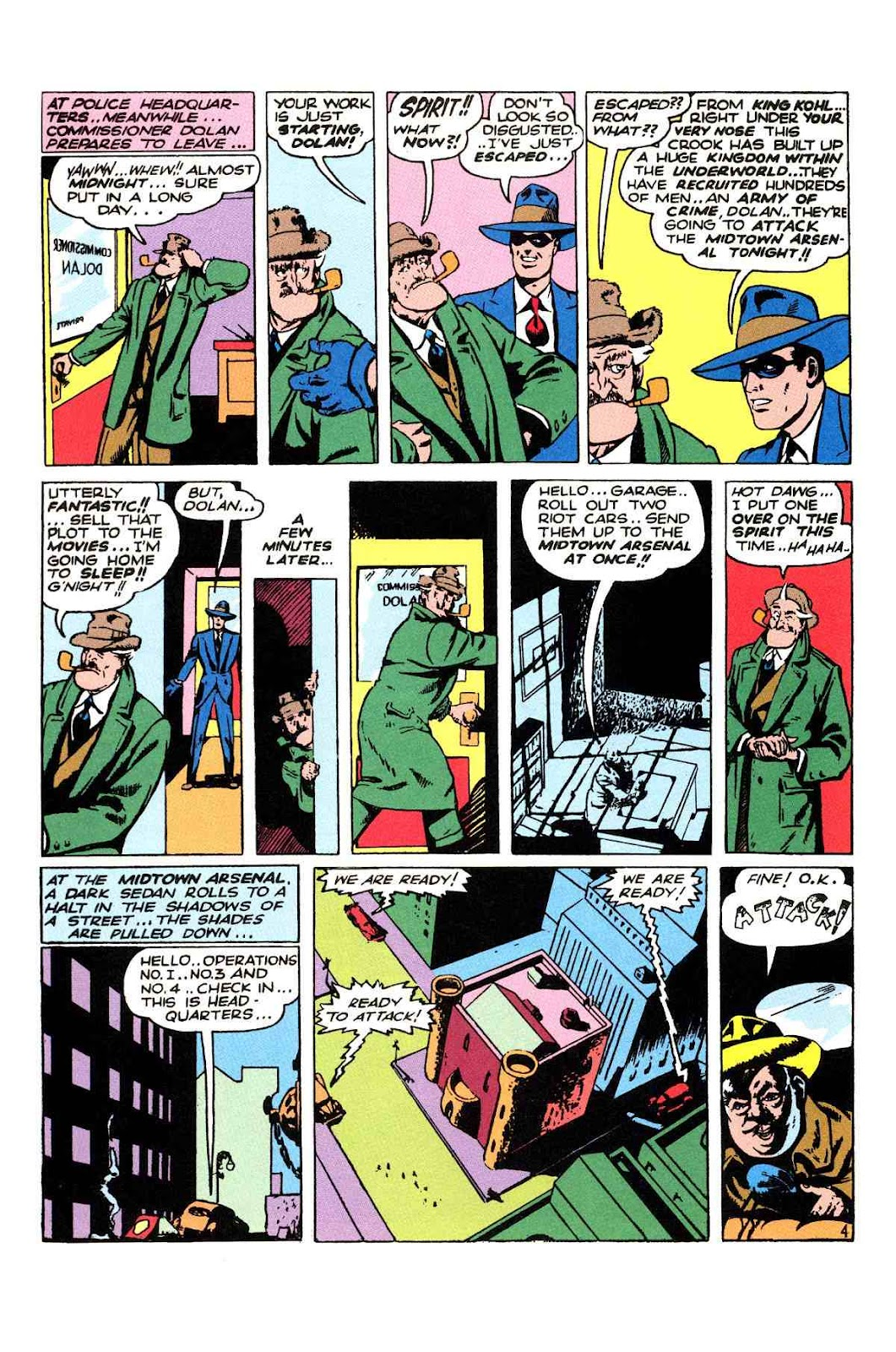 Read online Will Eisner's The Spirit Archives comic -  Issue # TPB 2 (Part 2) - 40