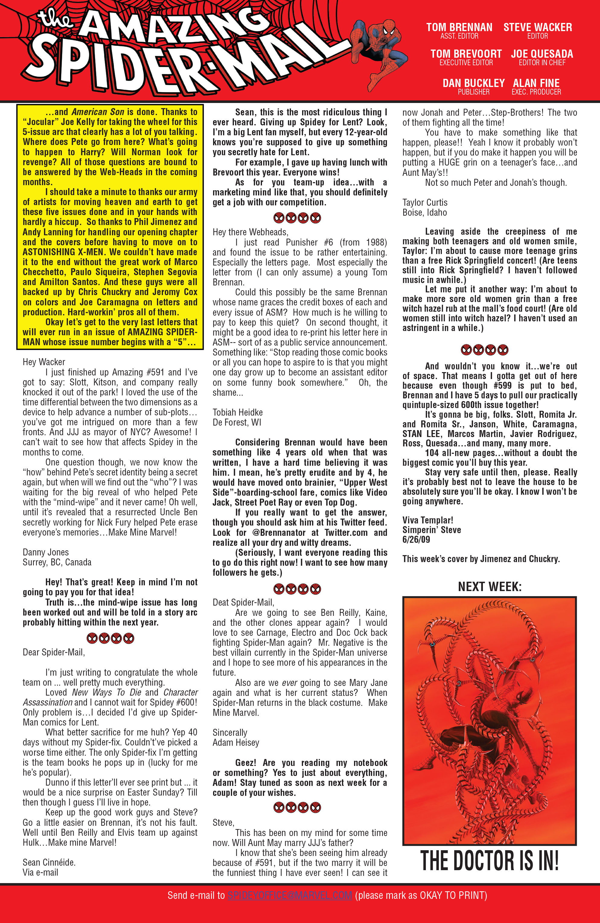 The Amazing Spider-Man (1963) 599 Page 23