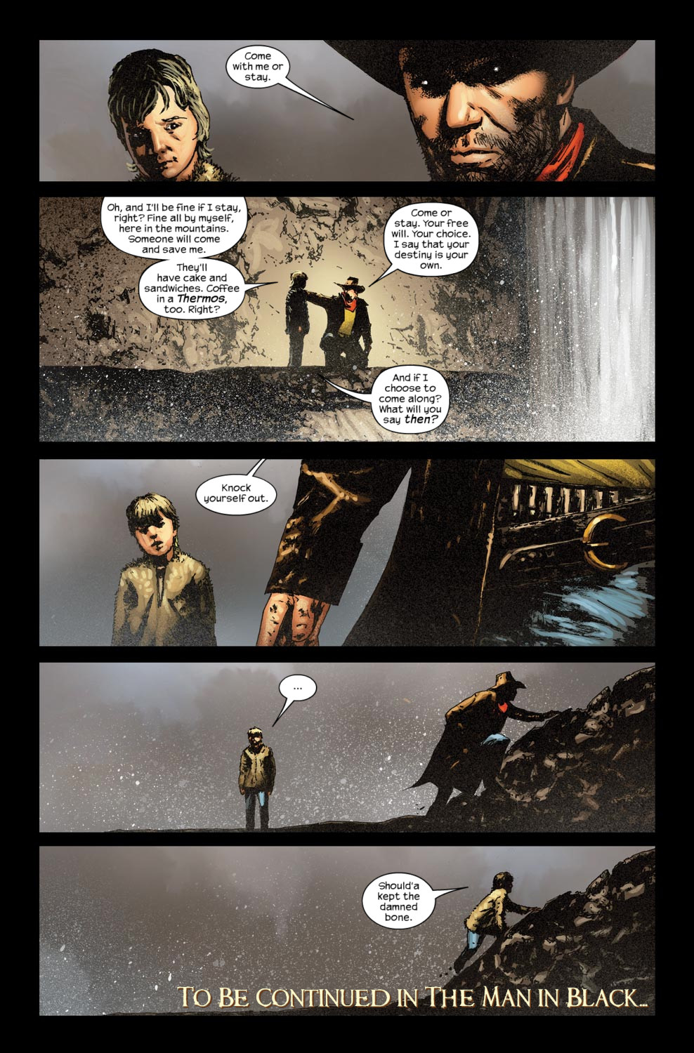 Read online Dark Tower: The Gunslinger - The Way Station comic -  Issue #5 - 24