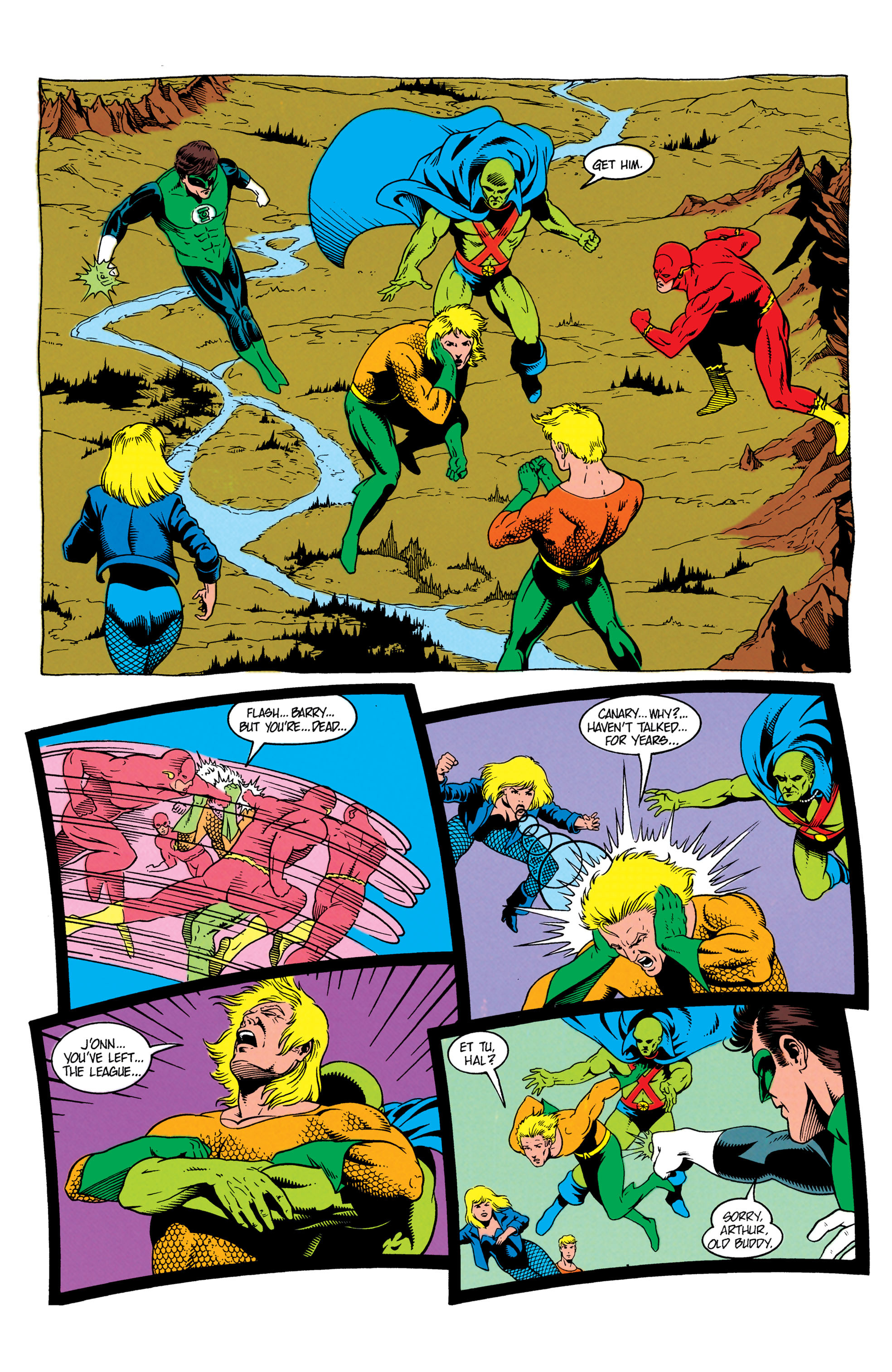 Read online Aquaman (1991) comic -  Issue #7 - 4