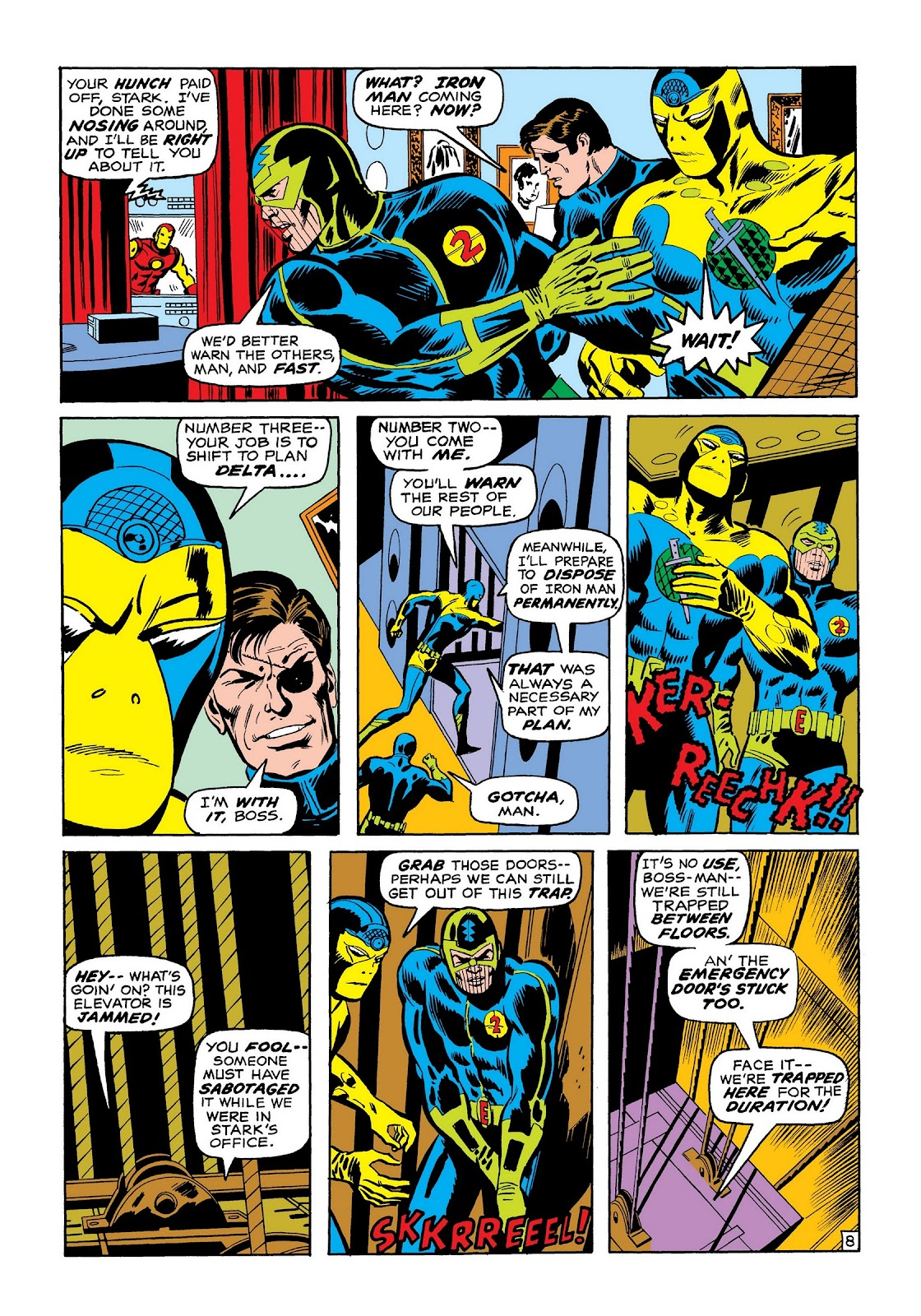 Read online Marvel Masterworks: The Invincible Iron Man comic -  Issue # TPB 7 (Part 2) - 77