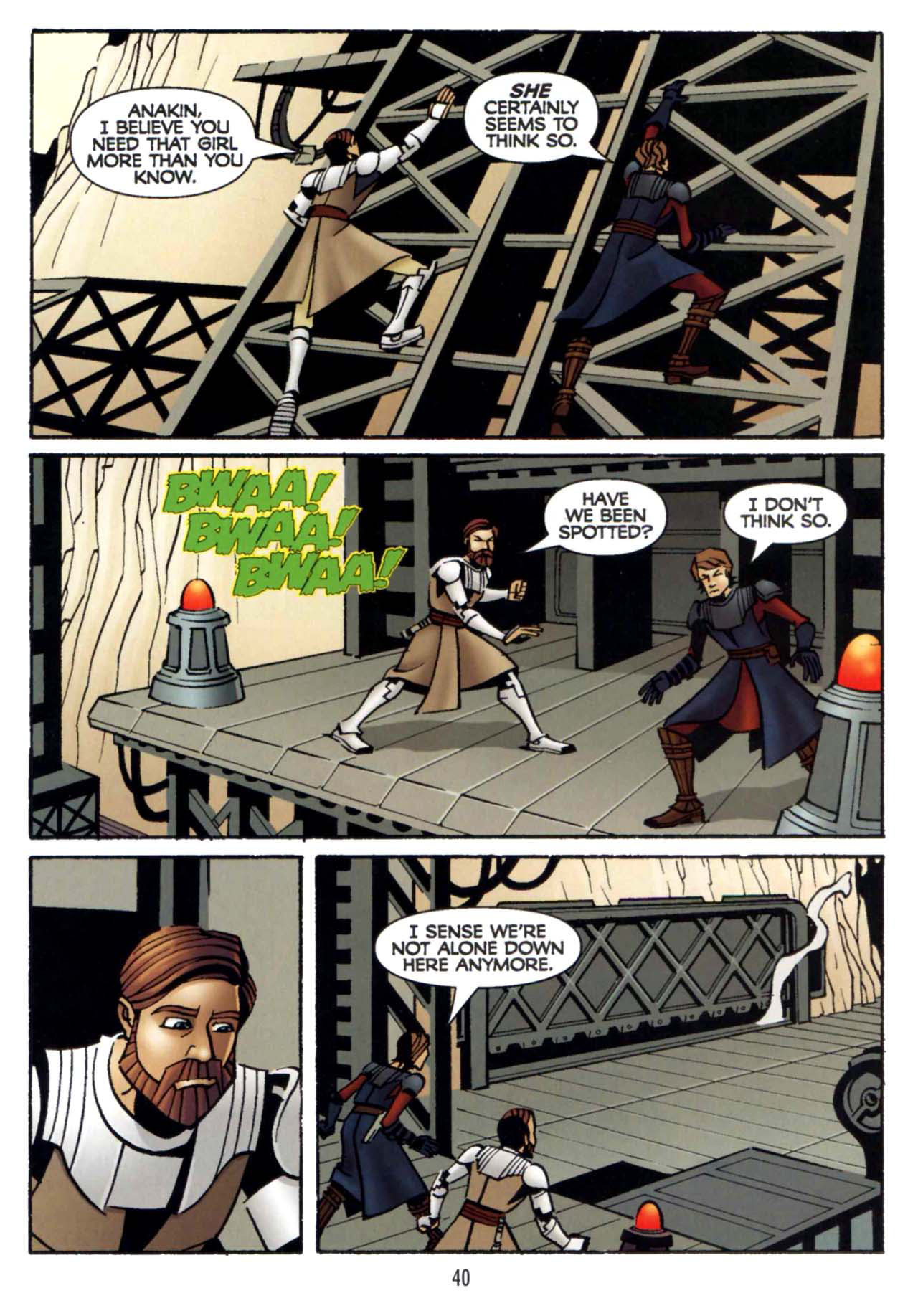 Read online Star Wars: The Clone Wars - Shipyards of Doom comic -  Issue # Full - 38
