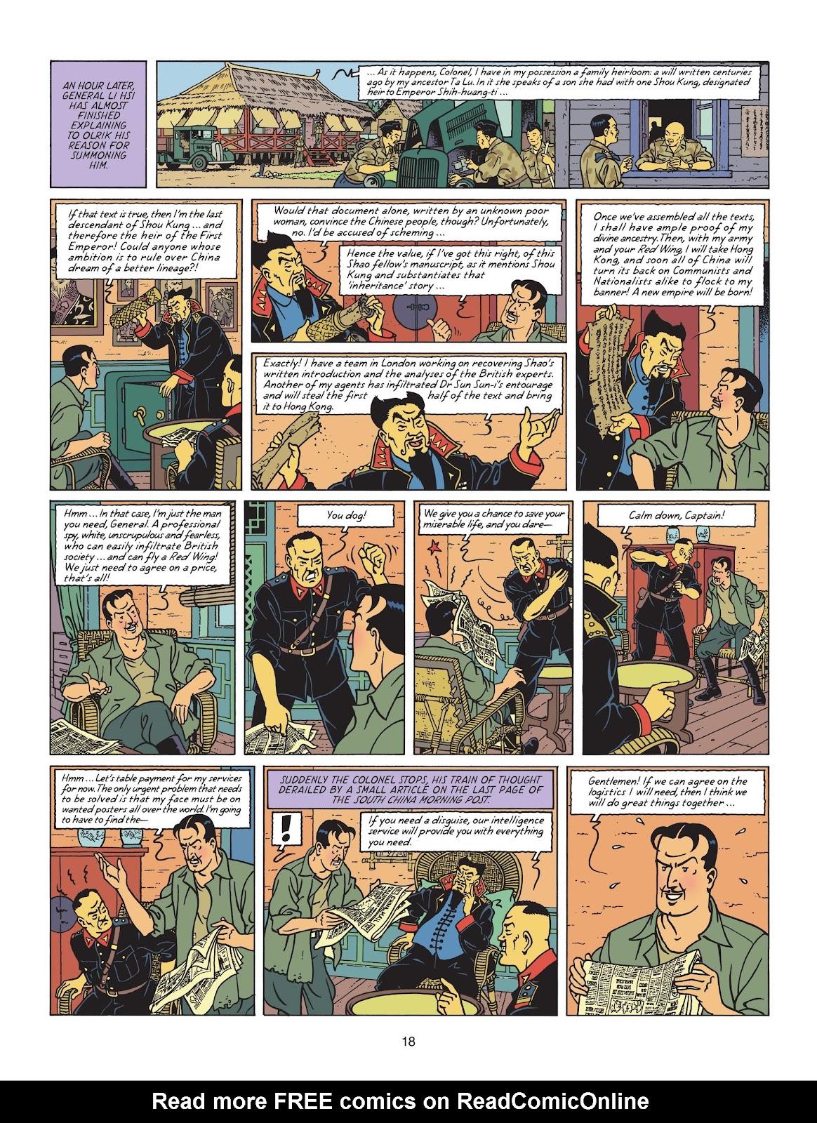 Read online Blake & Mortimer comic -  Issue #25 - 20