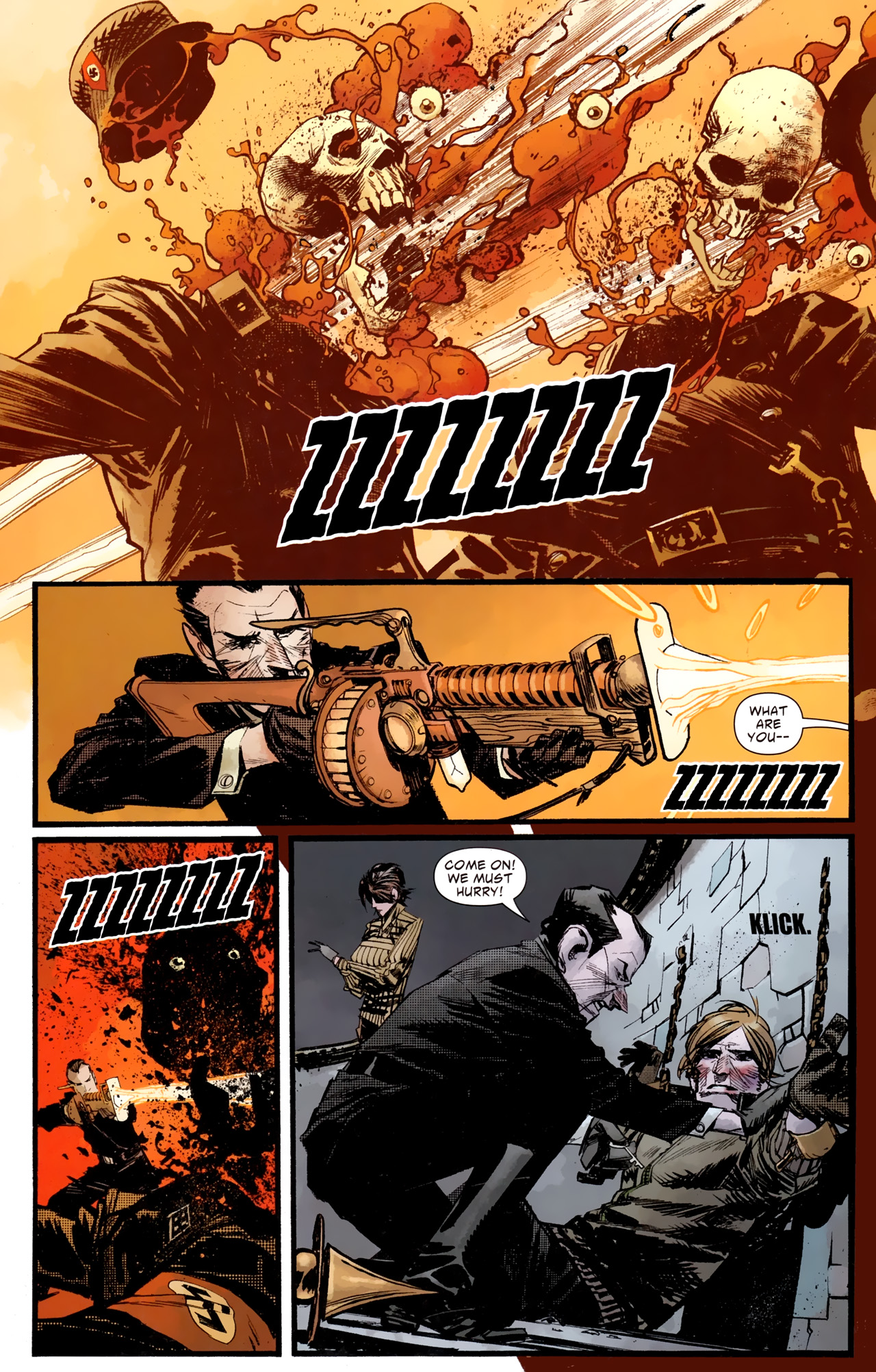 Read online American Vampire: Survival of the Fittest comic -  Issue #4 - 16