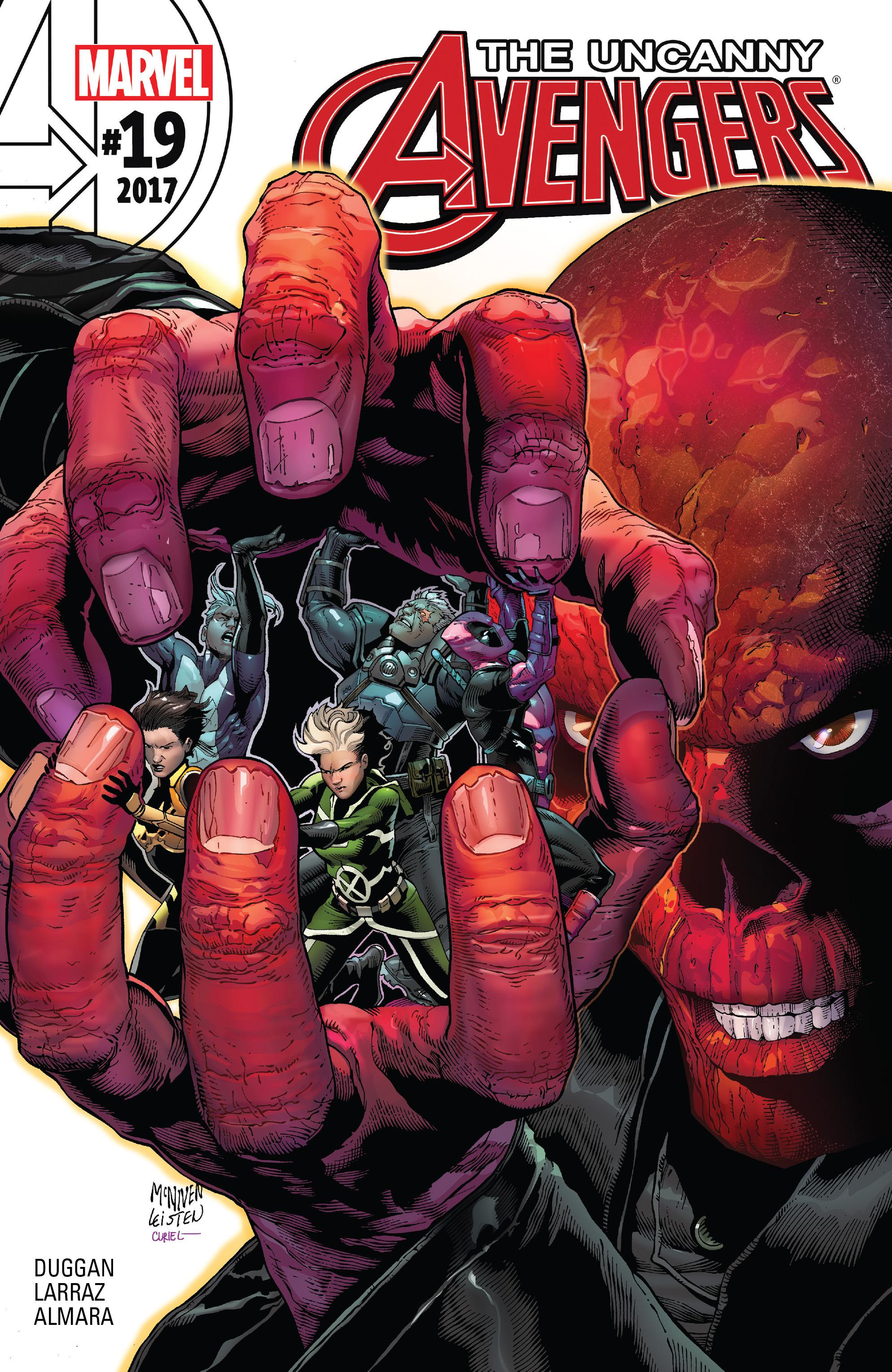 Read online Uncanny Avengers [II] comic -  Issue #19 - 1
