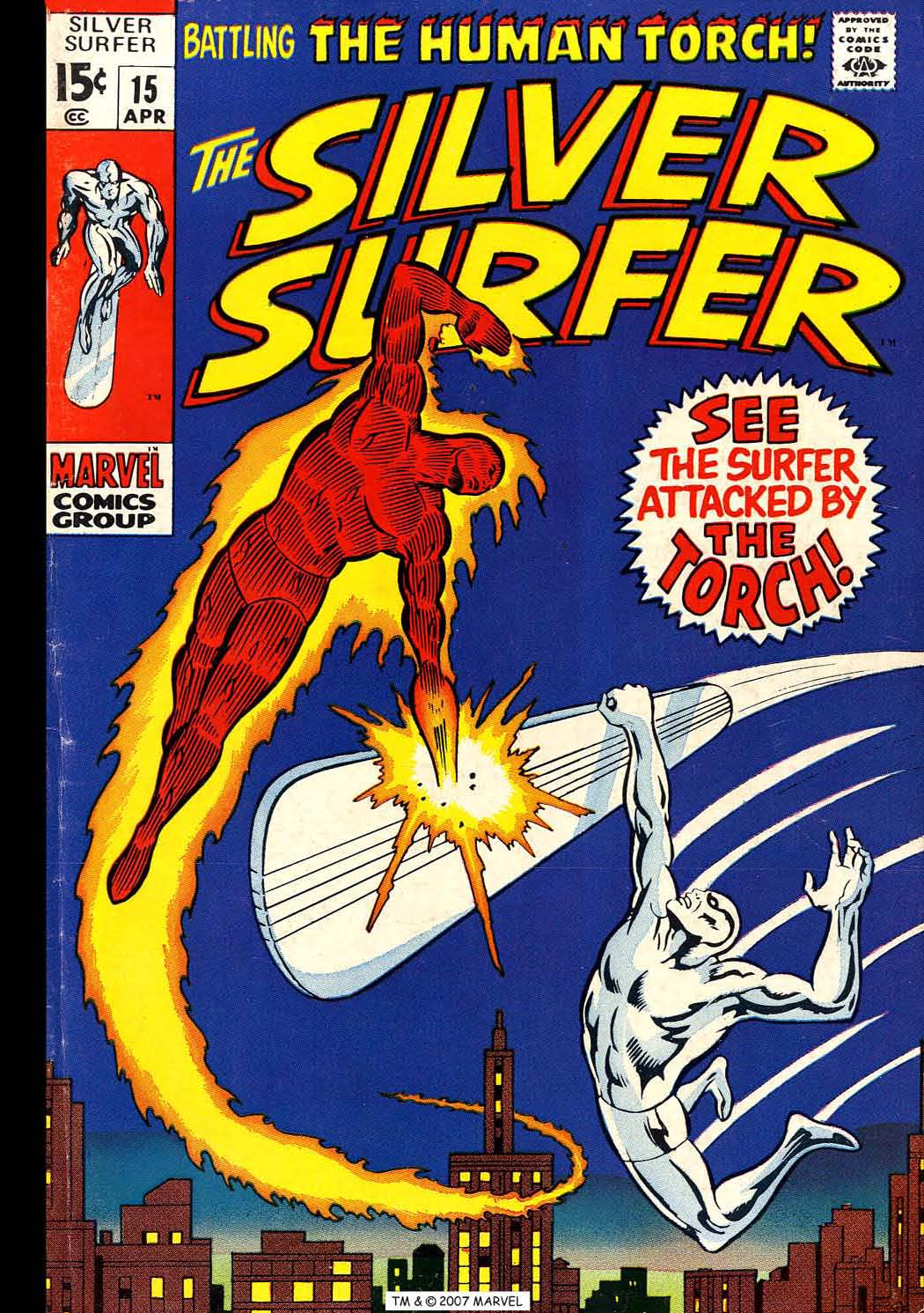 Silver Surfer (1968) issue 15 - Page 1