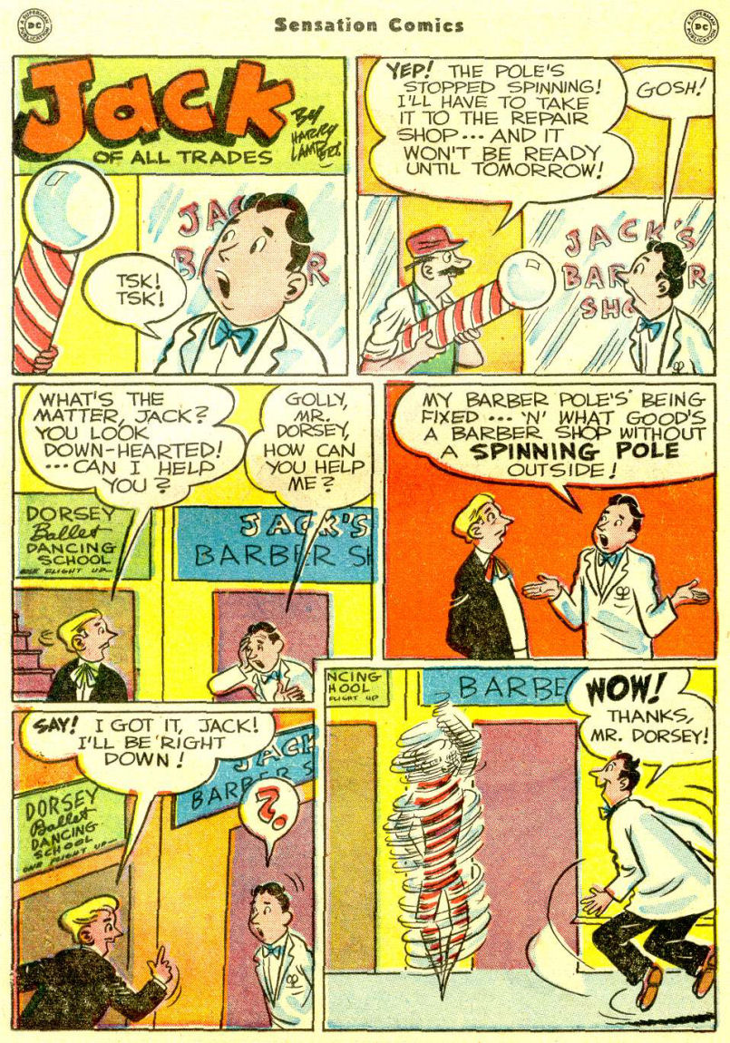 Read online Sensation (Mystery) Comics comic -  Issue #77 - 30