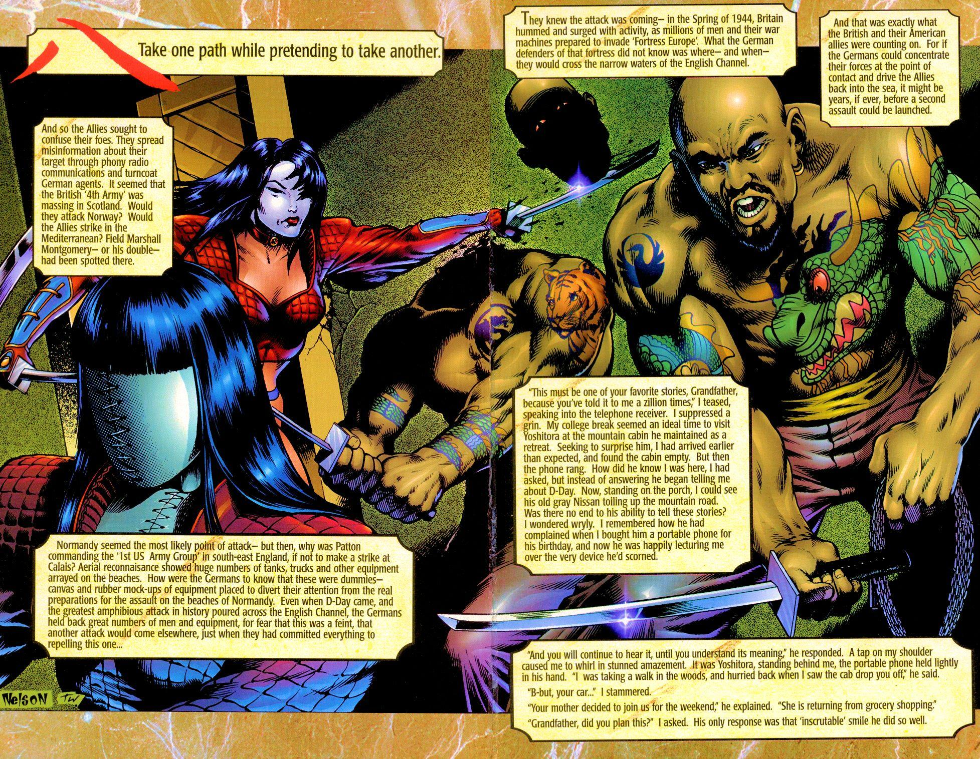 Read online Shi: Senryaku comic -  Issue #1 - 13