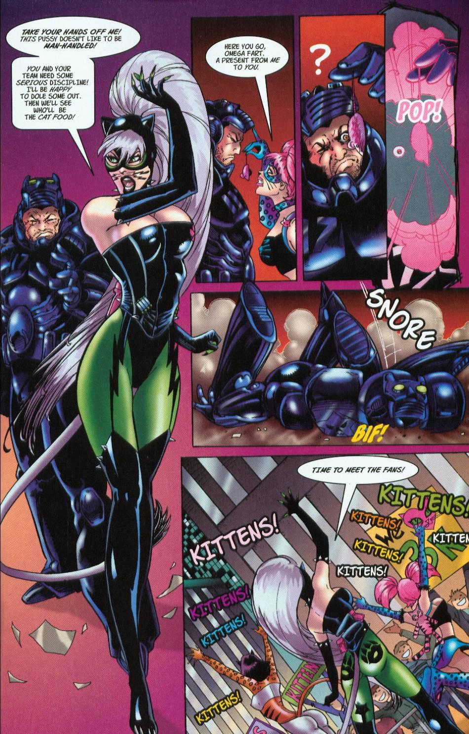Read online 3 Little Kittens: Purrr-fect Weapons comic -  Issue #1 - 21