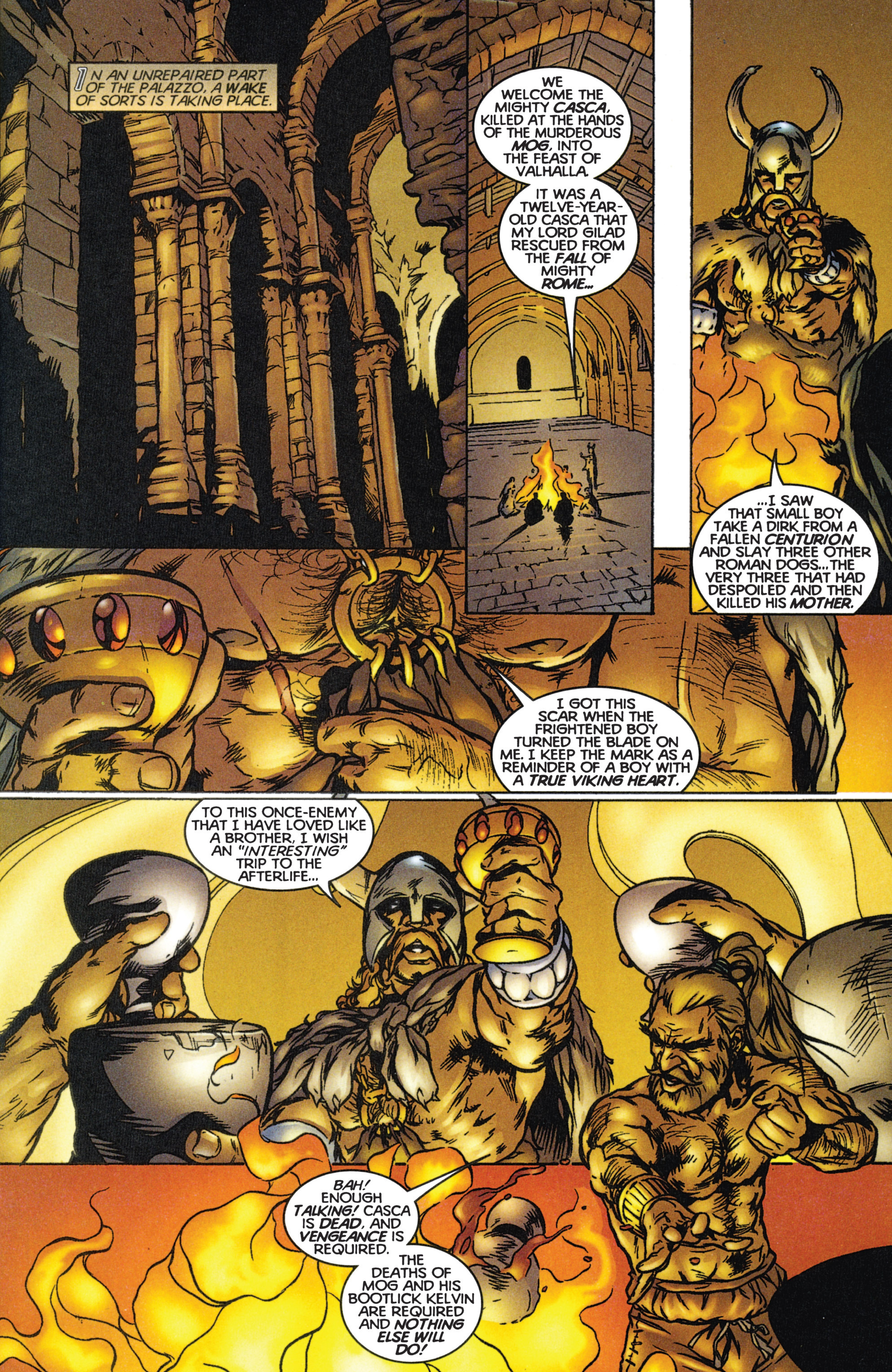Read online Eternal Warriors comic -  Issue # Issue The Immortal Enemy - 21