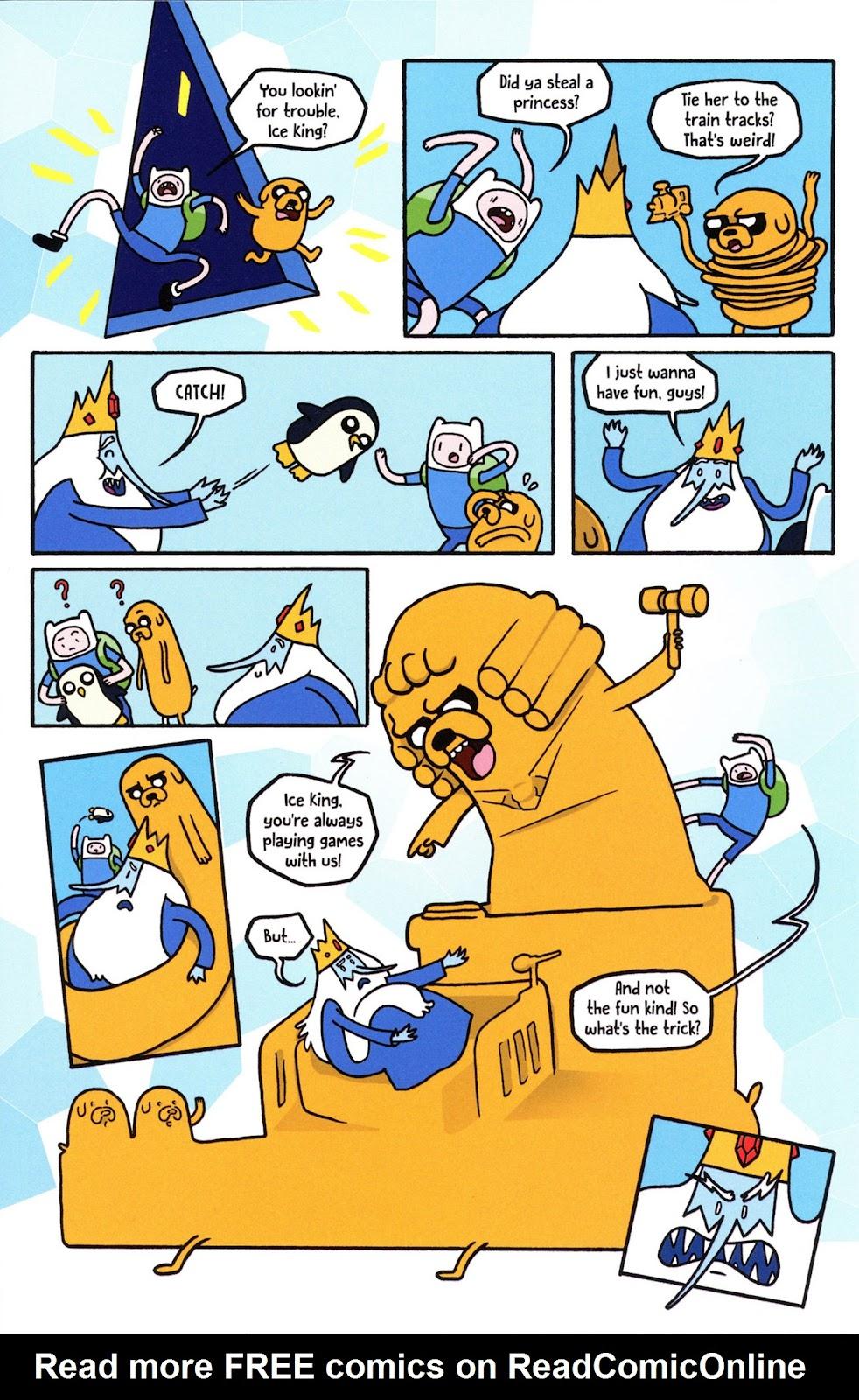 Read online Adventure Time Comics comic -  Issue #6 - 21