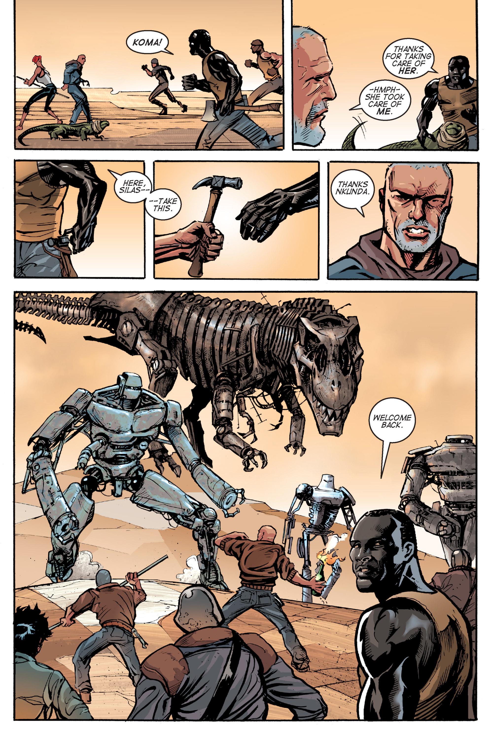 Read online Planetoid comic -  Issue # TPB - 144