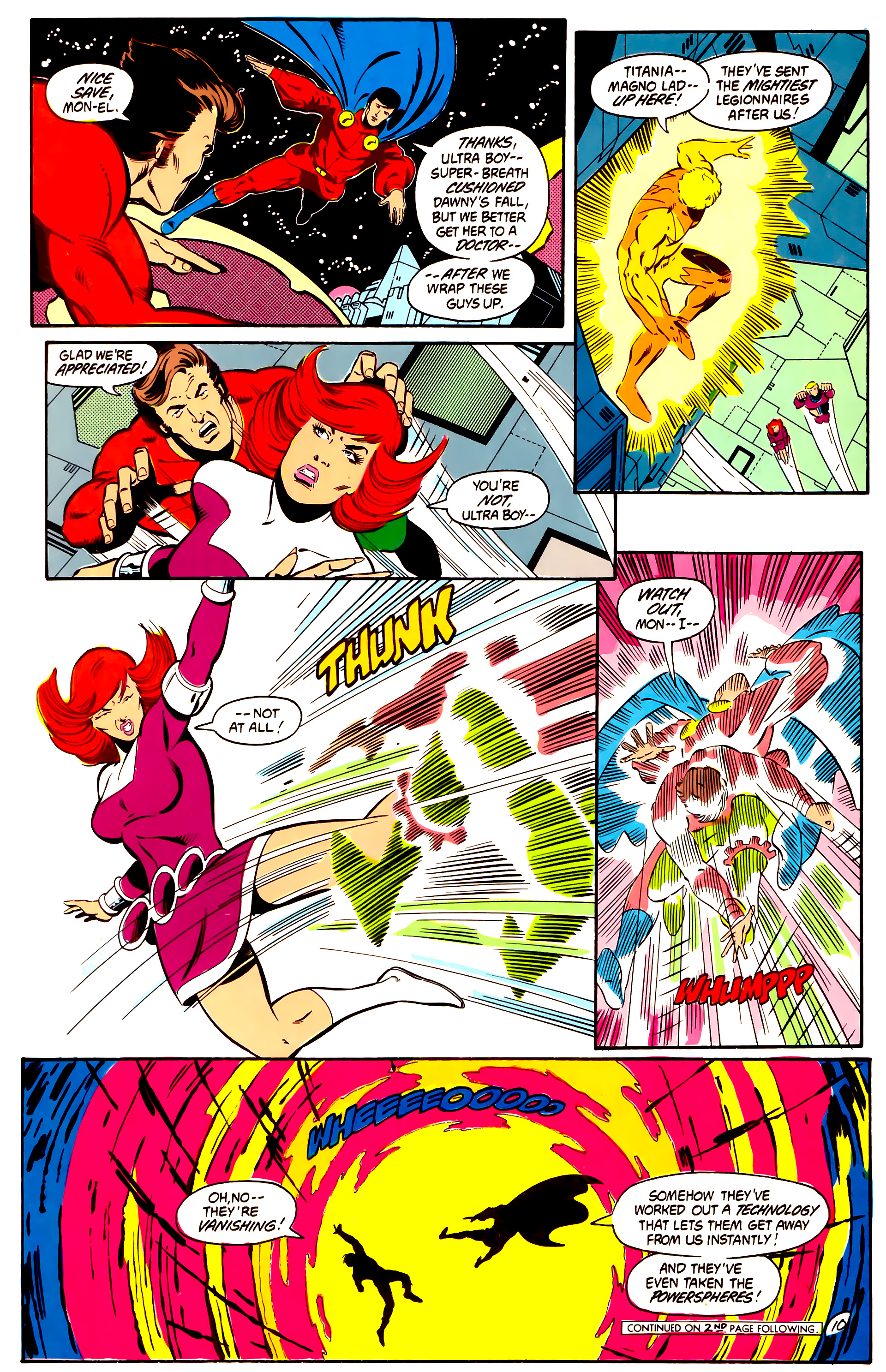 Legion of Super-Heroes (1984) 2 Page 11