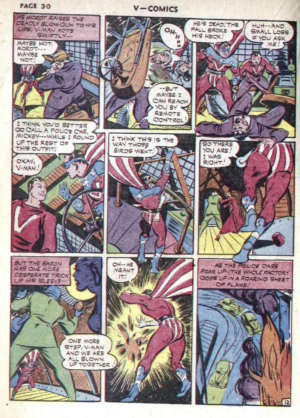 Read online V...- Comics comic -  Issue #1 - 32