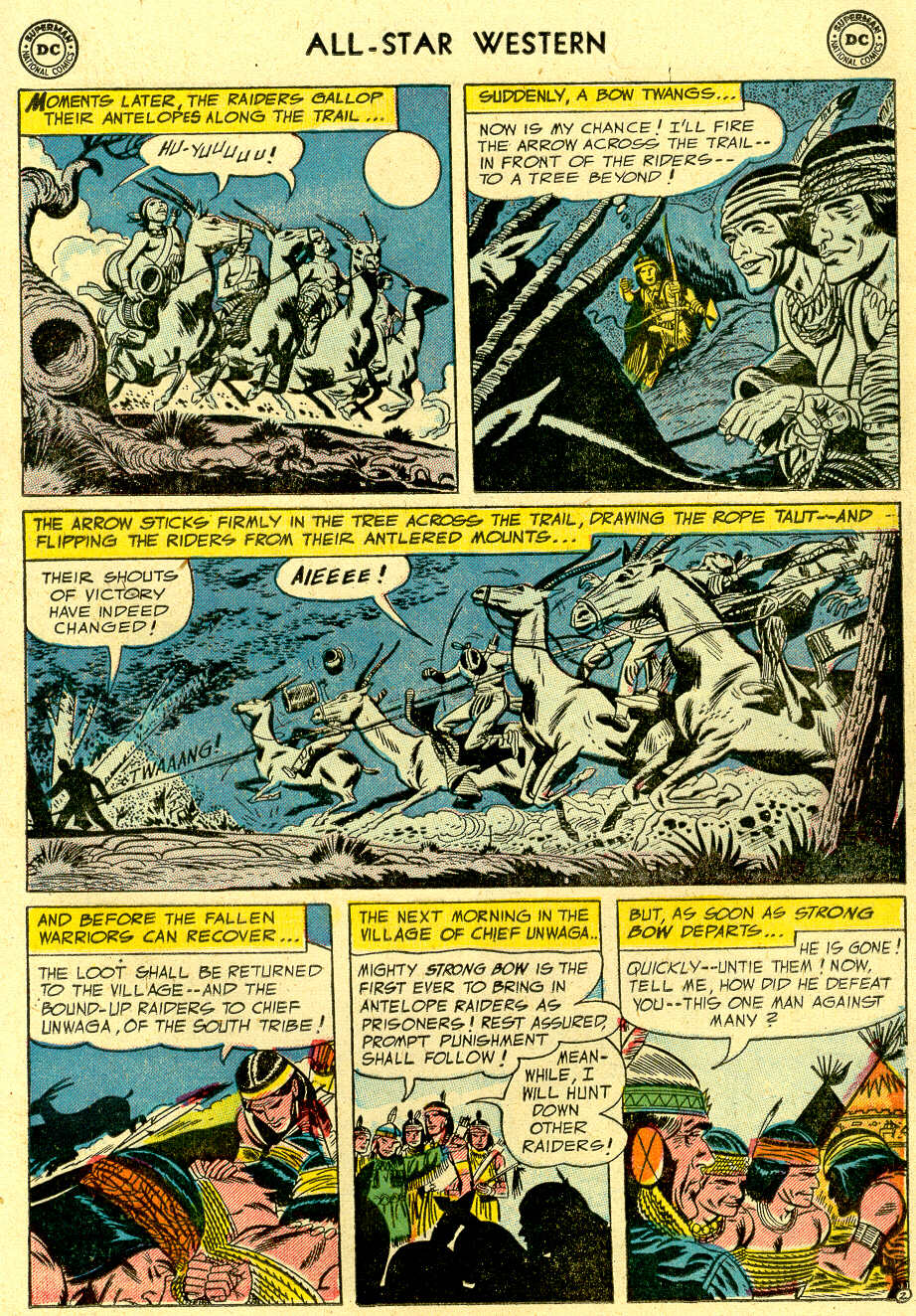 Read online All-Star Western (1951) comic -  Issue #83 - 13