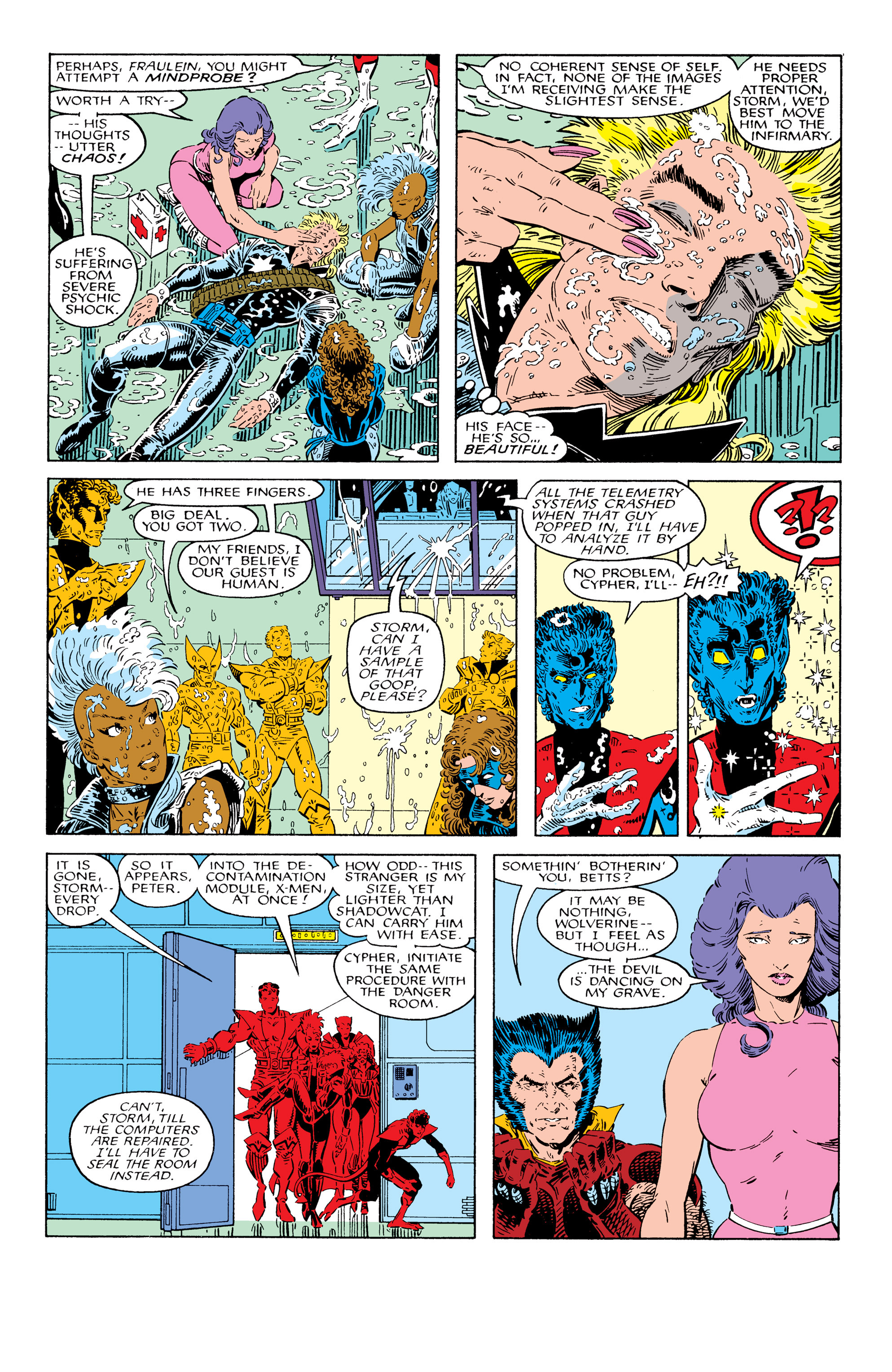 Read online Uncanny X-Men (1963) comic -  Issue # _Annual 10 - 8