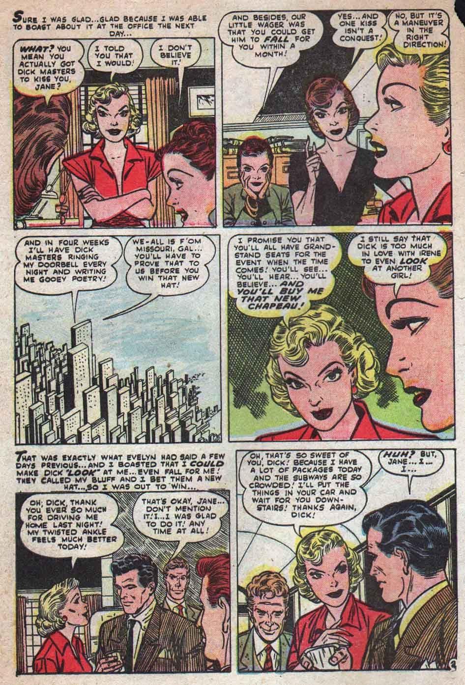 Love Romances (1949) issue 25 - Page 3