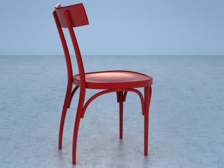 [3Dsmax] 3D model free - Czech chair