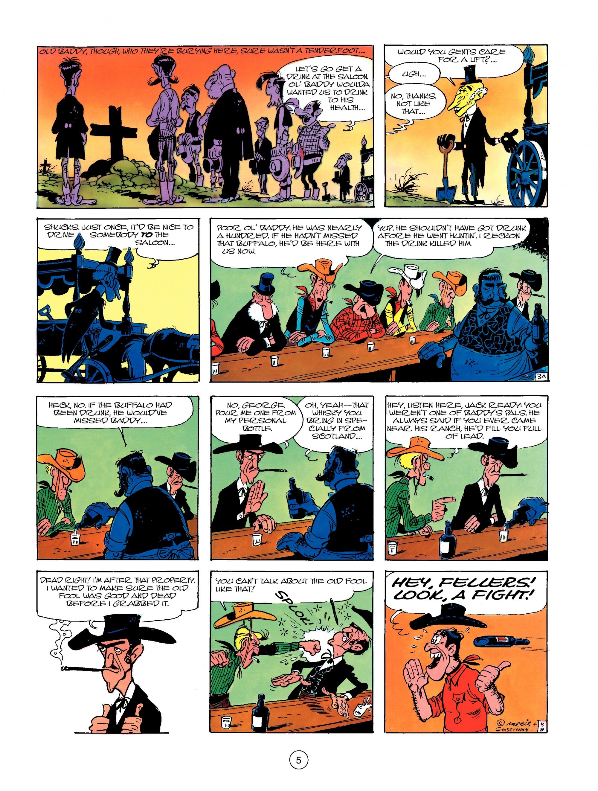 Read online A Lucky Luke Adventure comic -  Issue #13 - 5