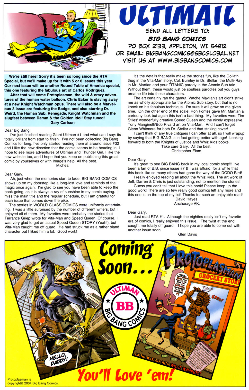 Read online Big Bang Presents Ultiman Family comic -  Issue # Full - 24