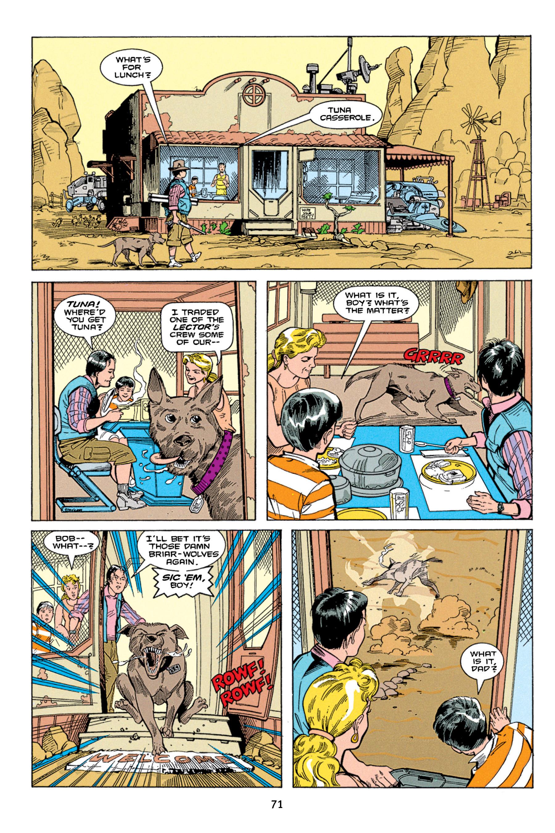 Read online Aliens vs. Predator Omnibus comic -  Issue # _TPB 1 Part 1 - 71