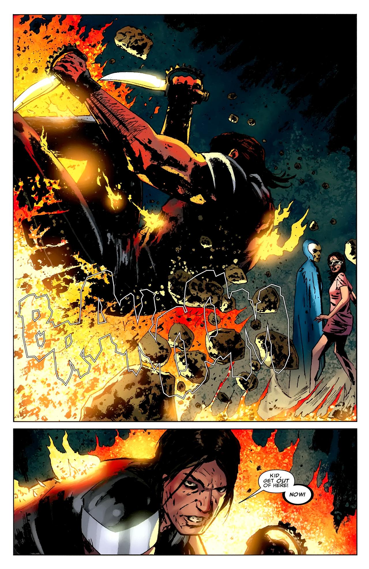 Read online X Necrosha comic -  Issue # Full - 47