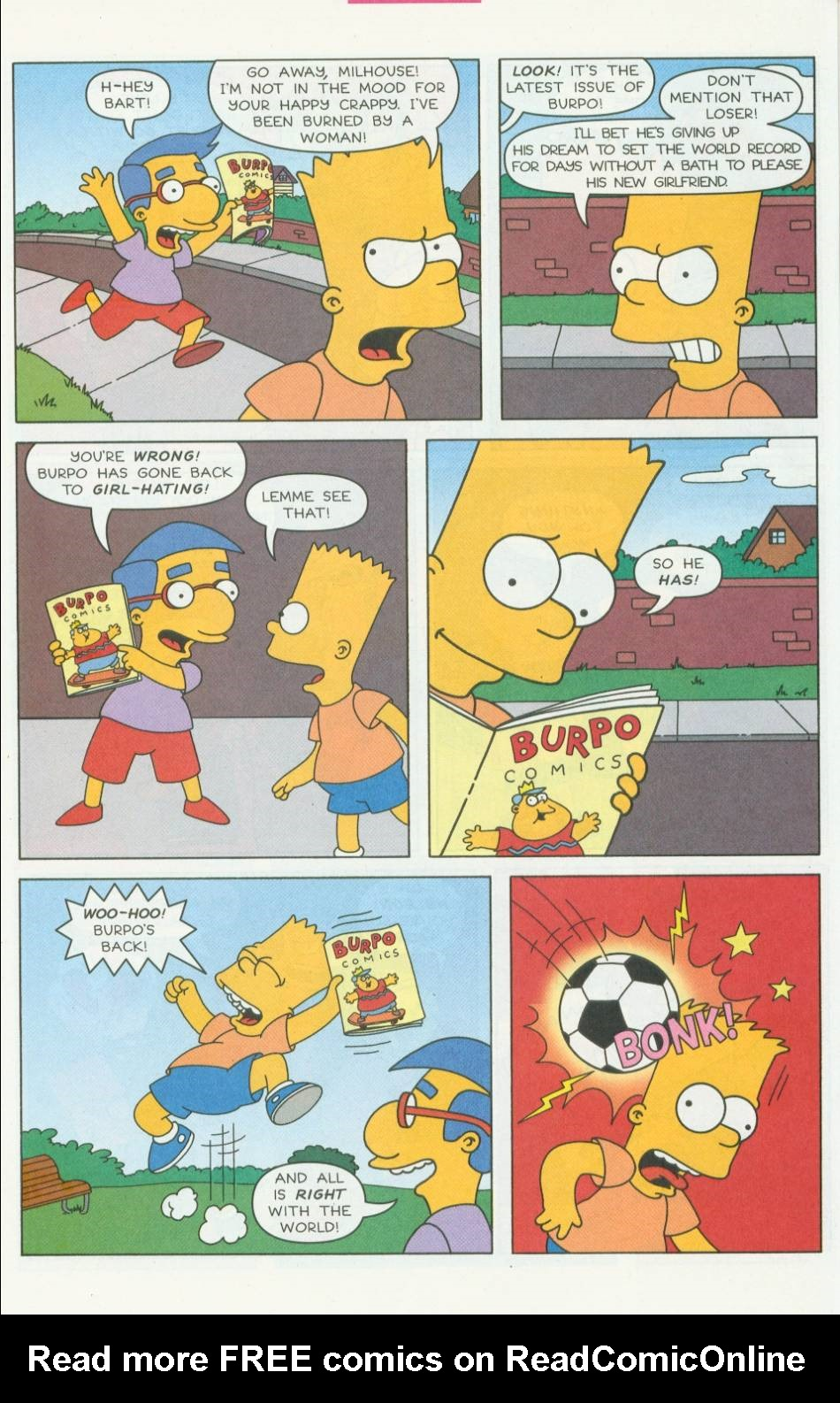 Read online Simpsons Comics Presents Bart Simpson comic -  Issue #1 - 18