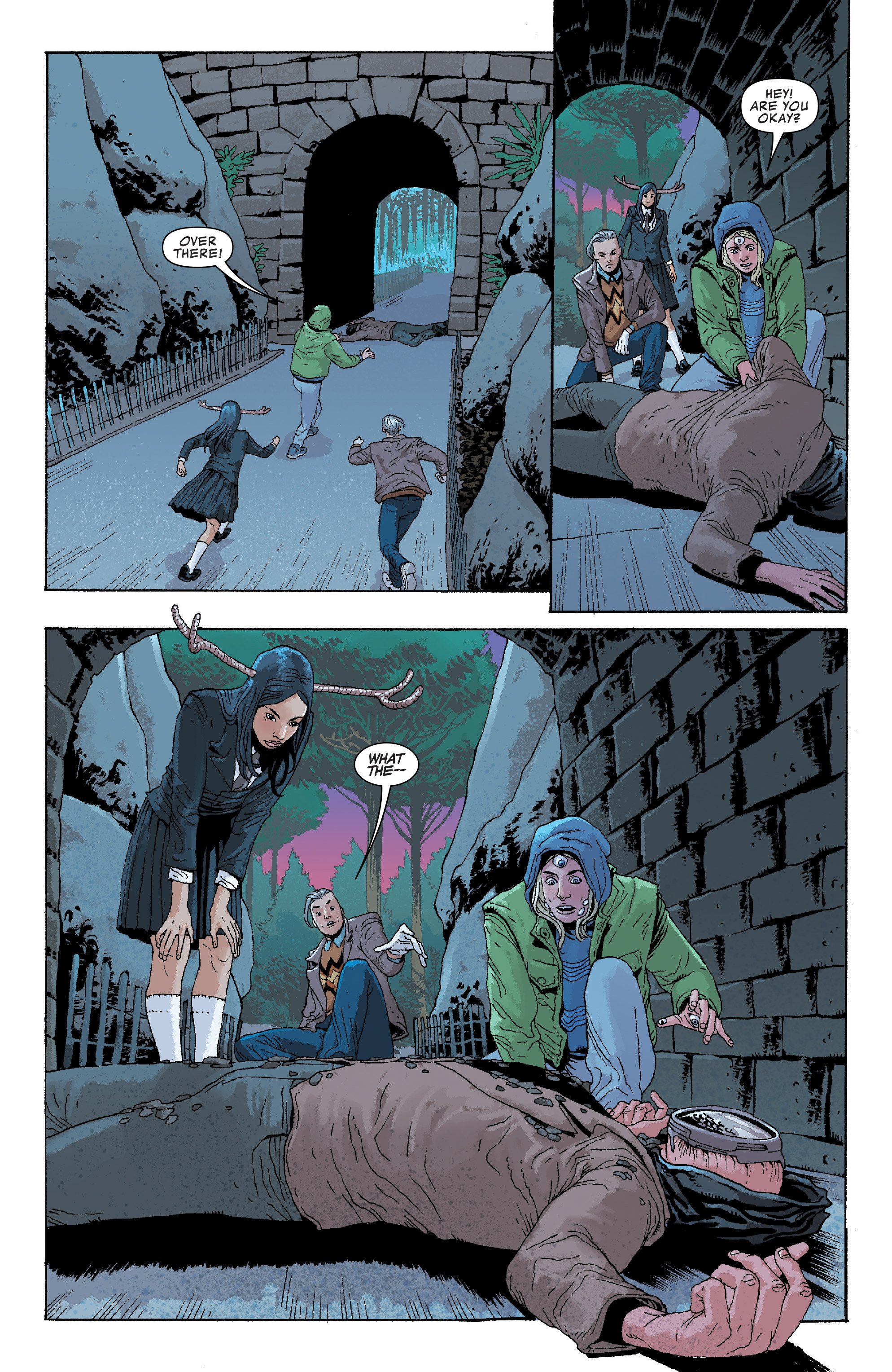 Read online Generation X (2017) comic -  Issue #3 - 6