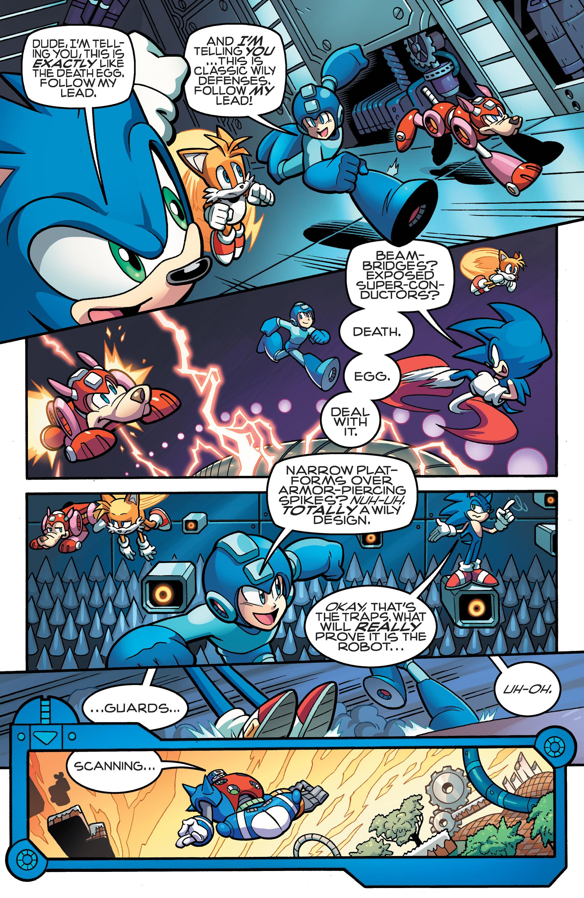 Read online Sonic Mega Man Worlds Collide comic -  Issue # Vol 3 - 57
